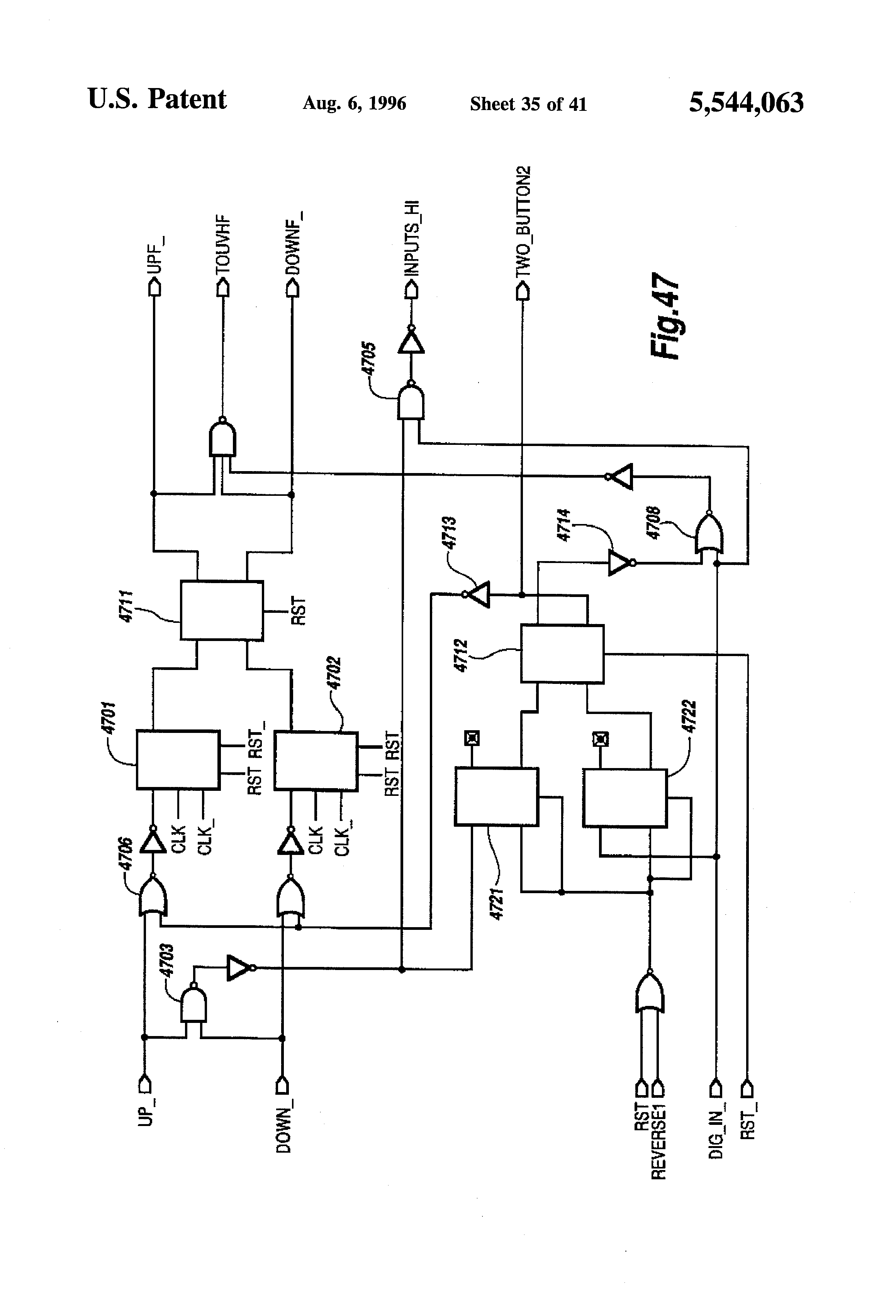 Us5544063a Digital Controller Google Patents 1450 Microwave Oven Schematic Image Touch Control Panel Circuit