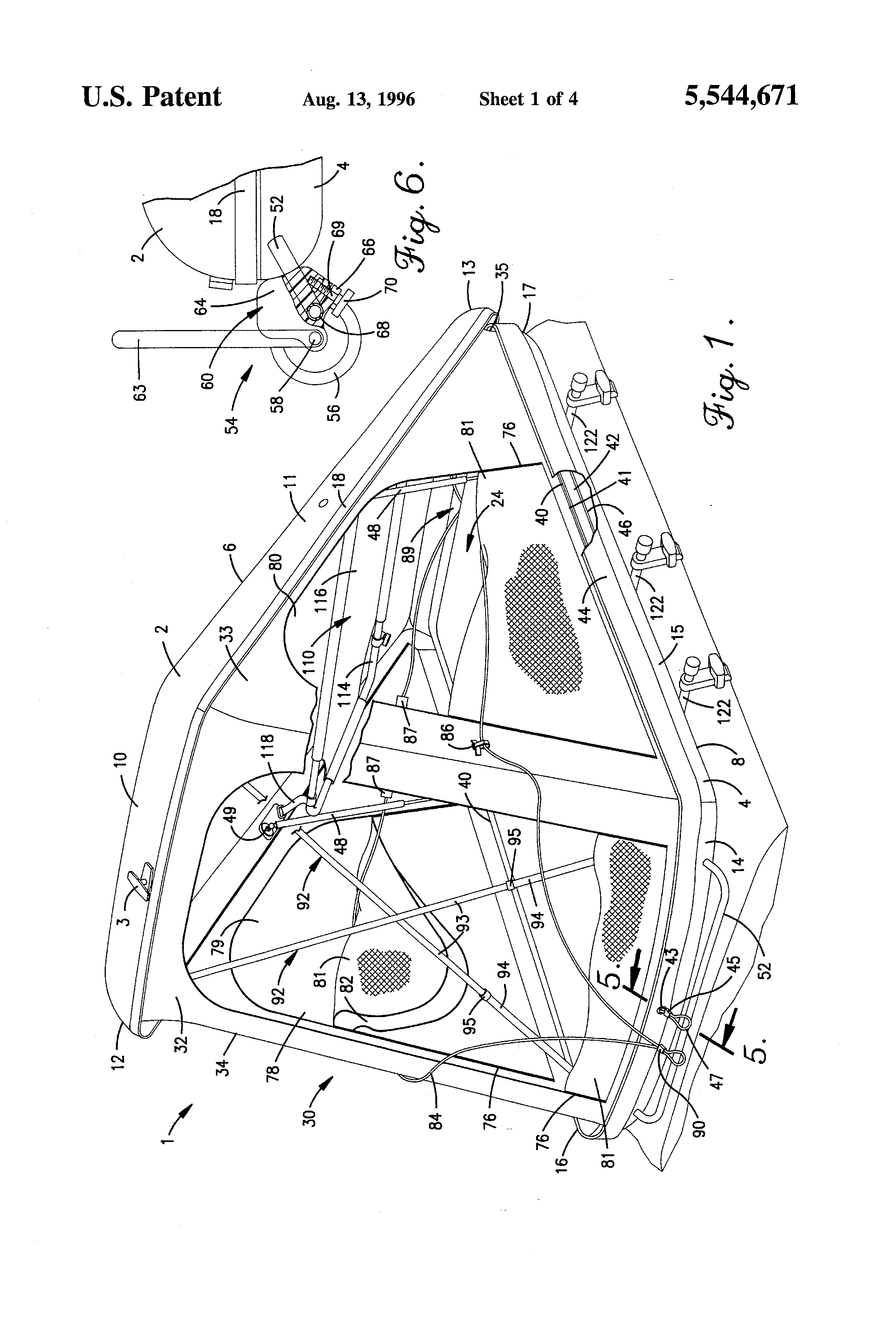 Patent US5544671 - Lightweight, portable, self-opening