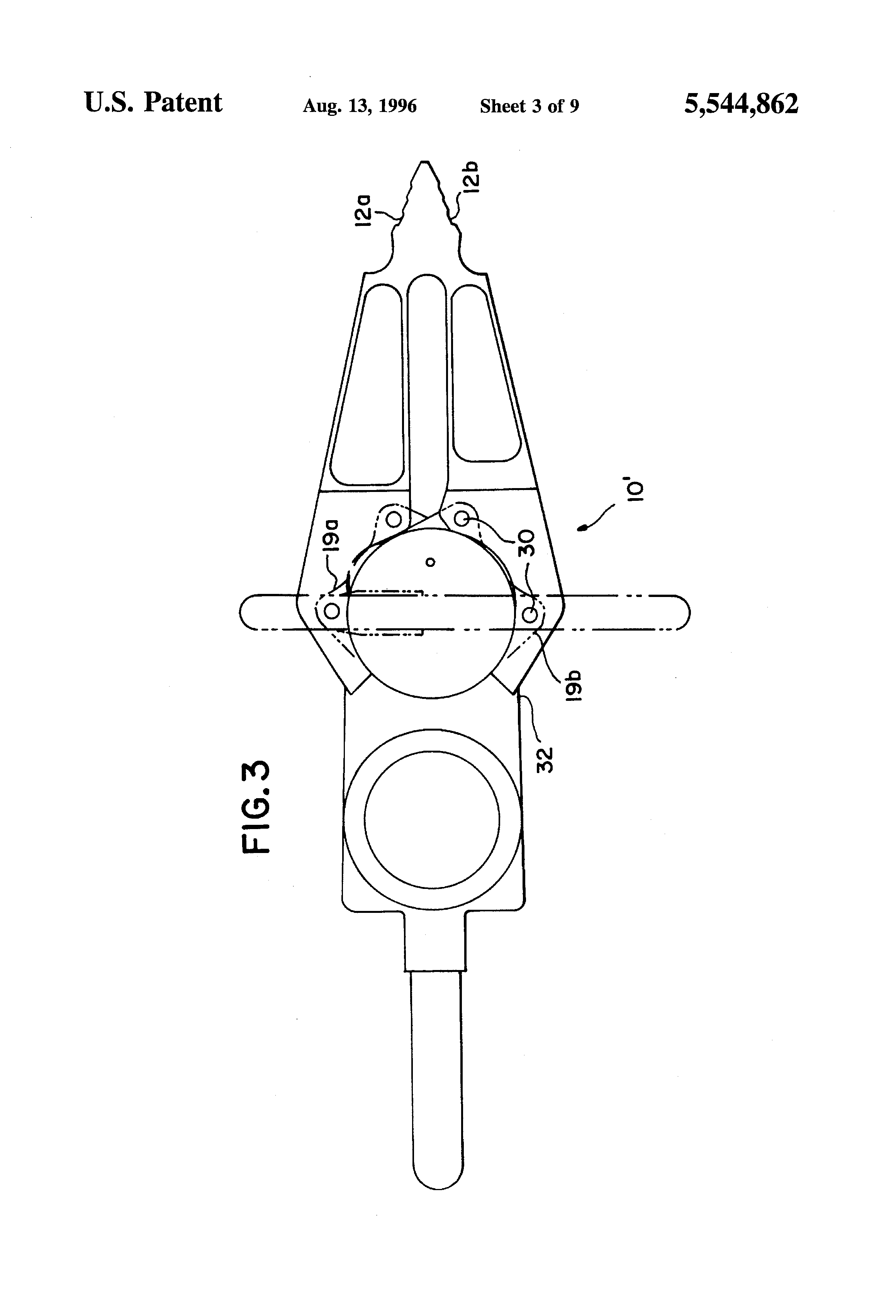 Patent Us5544862 Rescue Tool Google Patenten