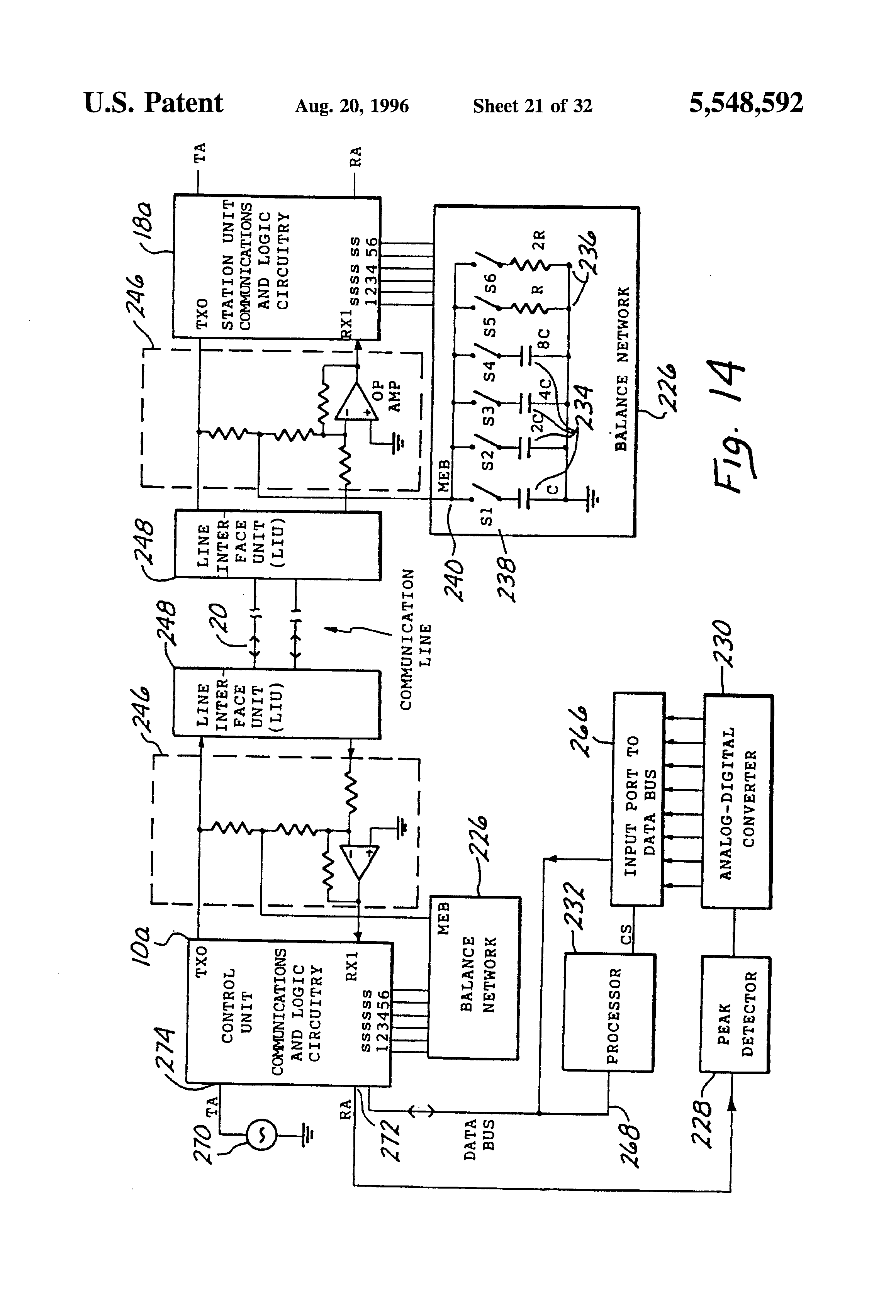 Patent Us5548592 Home And Small Business Phone System For Debounce Circuit Of Course Mitigates This Characteristic The Drawing