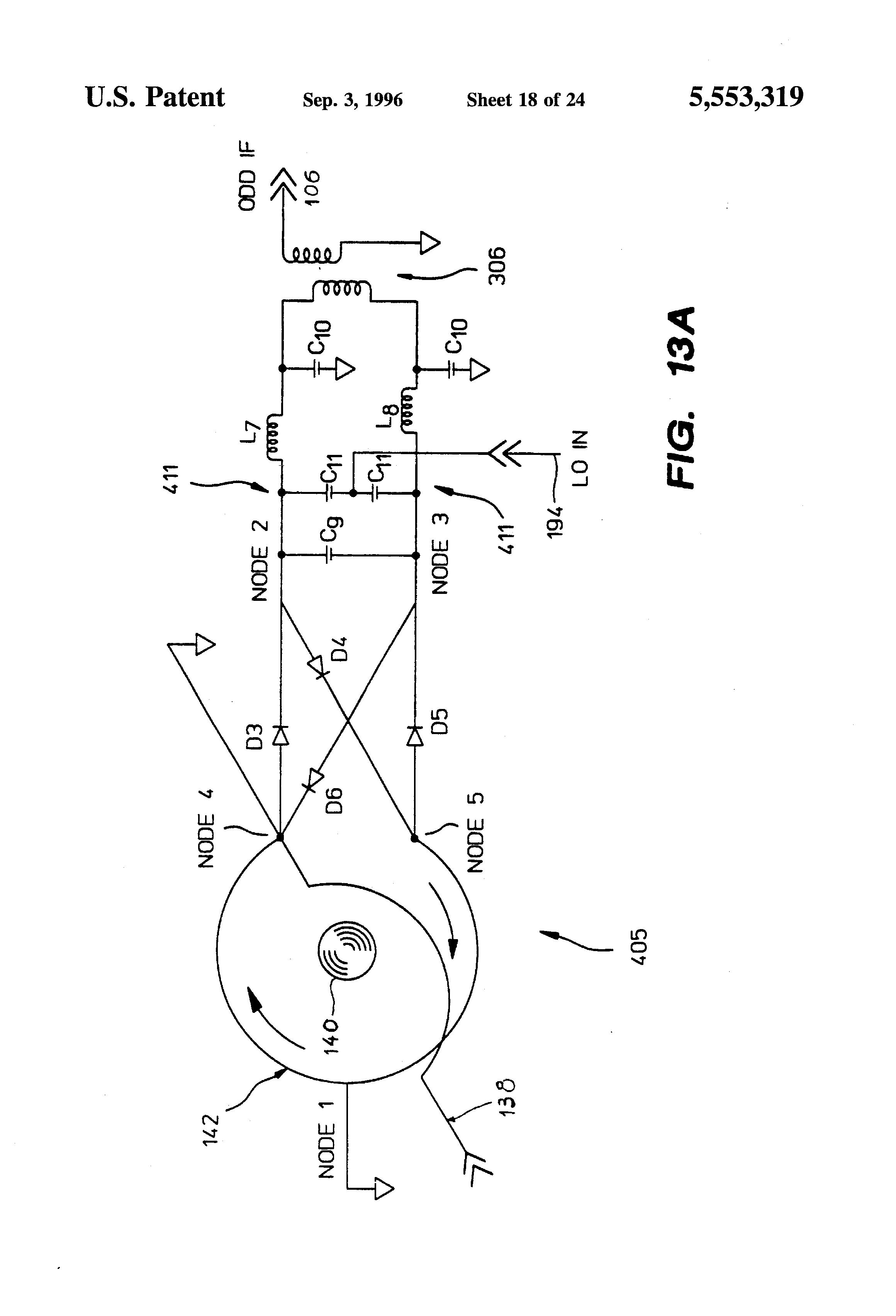patent us5553319 - routing yig-tuned mixer
