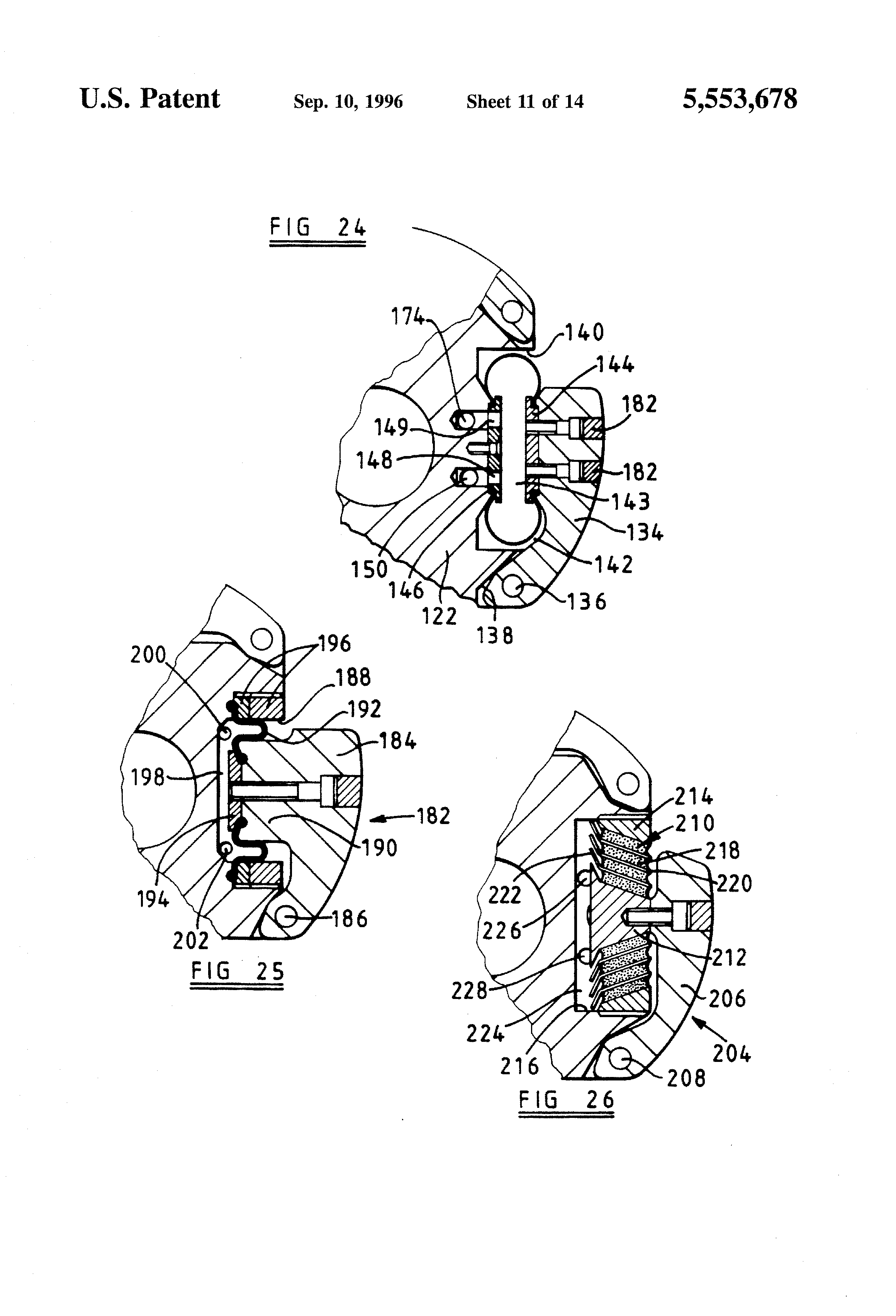 Patent US5553678 - Modulated bias units for steerable rotary ...