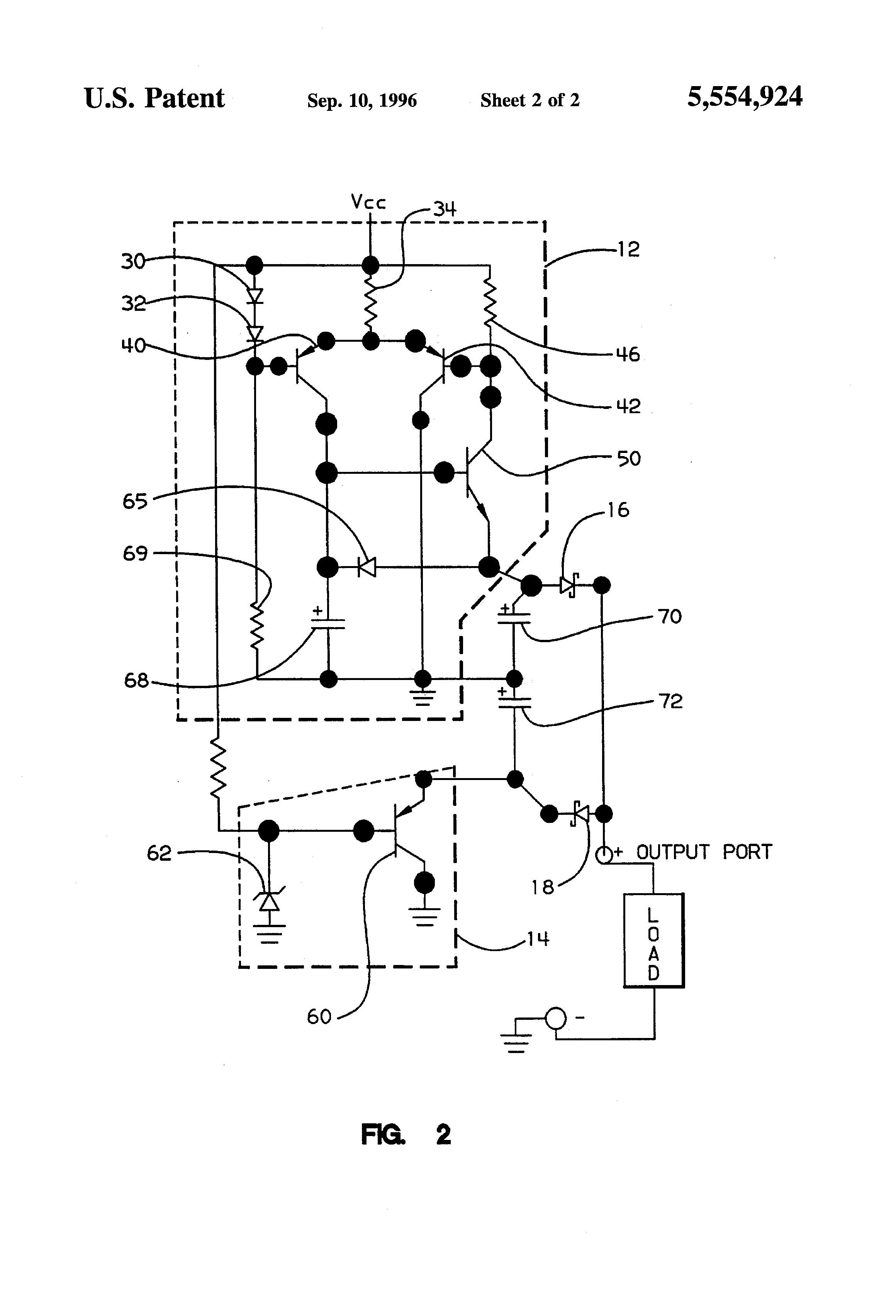 patent us5554924 - high speed shunt regulator