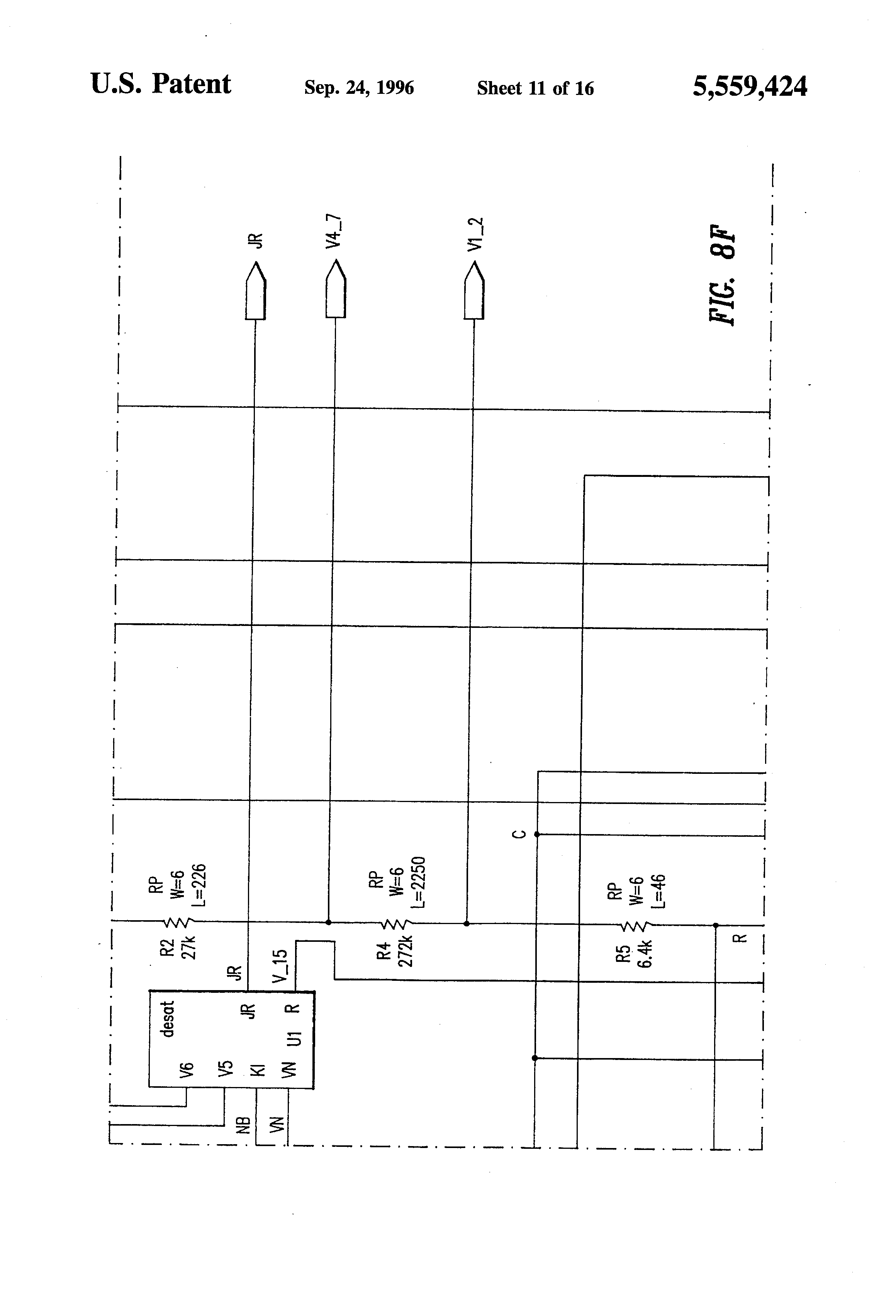 Us5559424 Voltage Regulator Having Improved 555watchdogtimercircuit Digital Logic Purpose Of Diode In This 555 Patent Drawing