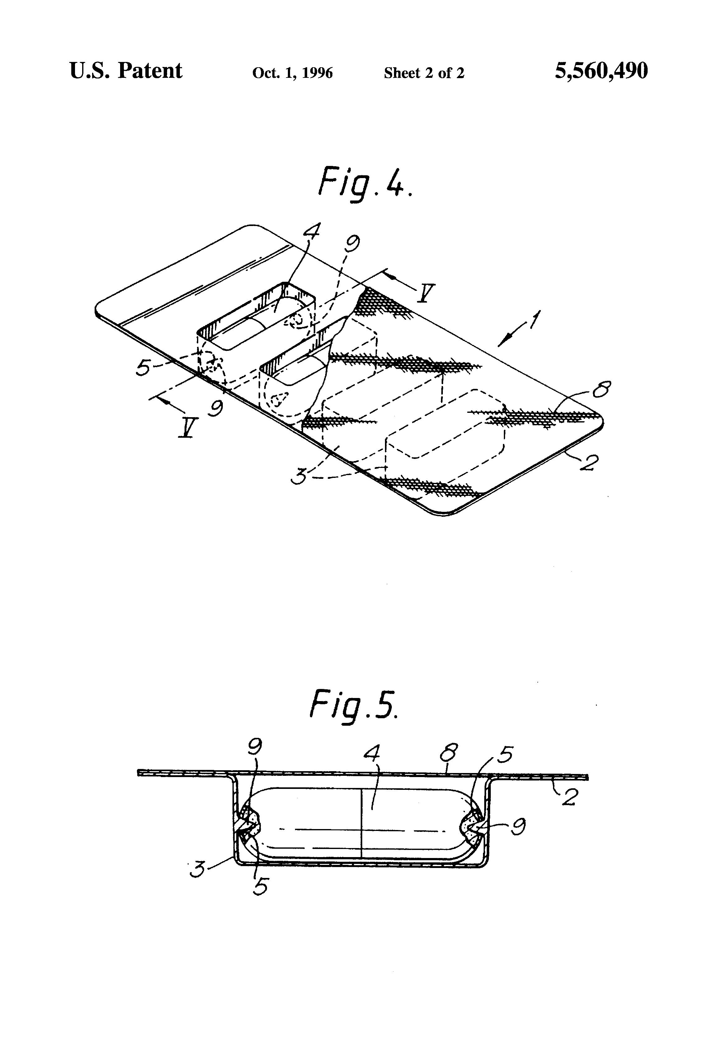 patent us5560490