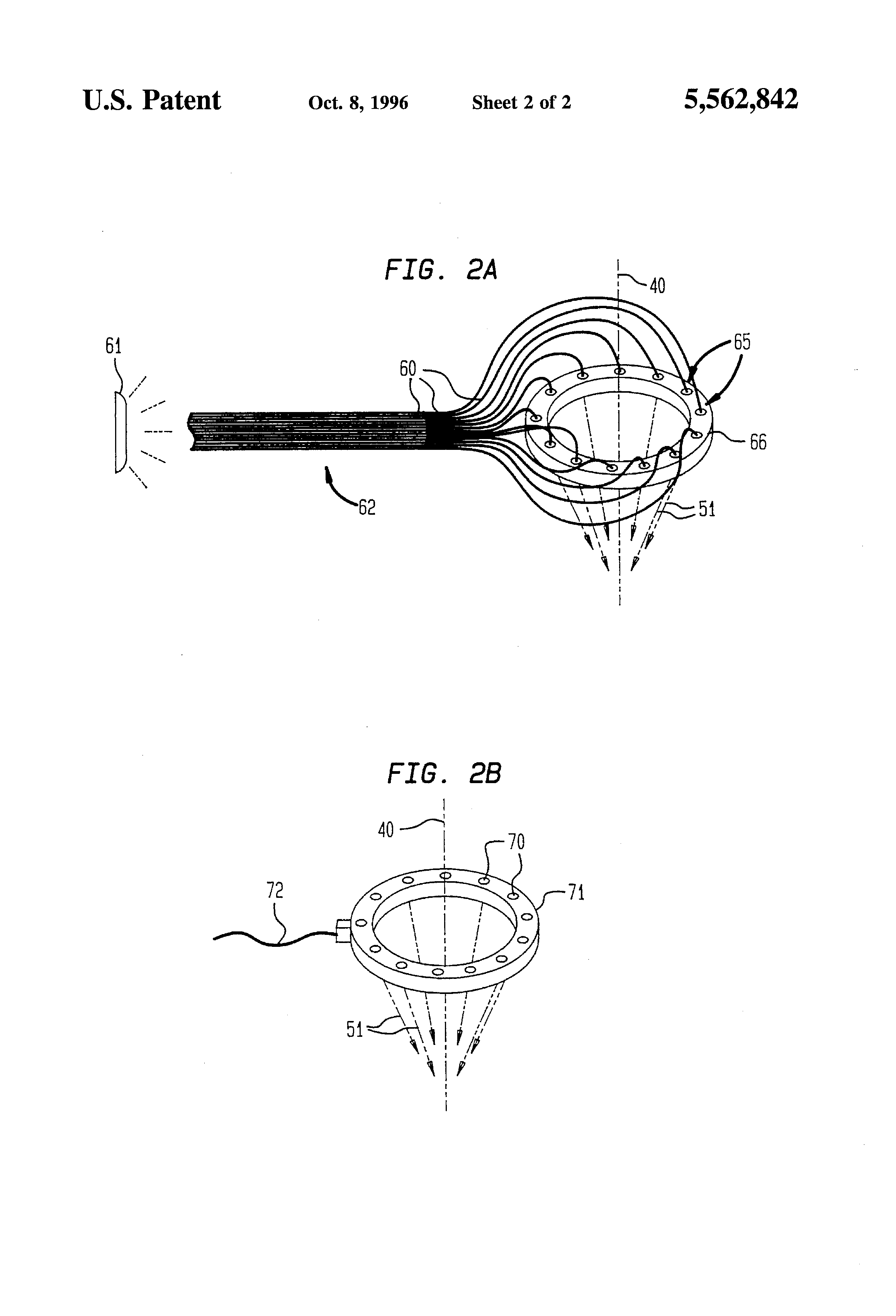 Patent Us5562842 Material Treatment Apparatus Combining A Laser Further Hole Drilling Machines On Diode Wire Diagram Drawing