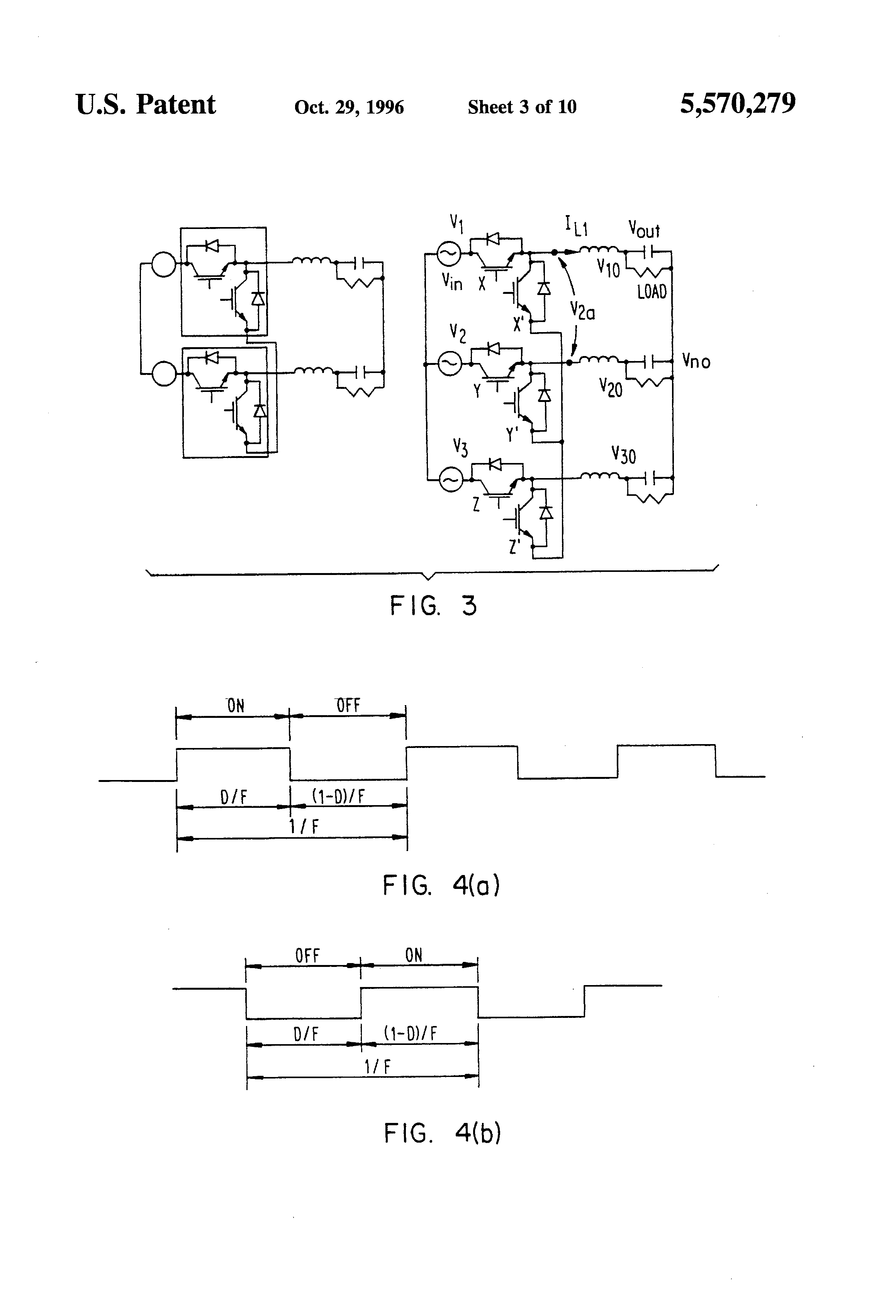 Patent Us5570279 Pwm Converters For Three Phase Ac Power Control Home Variac Wiring Diagrampng Drawing