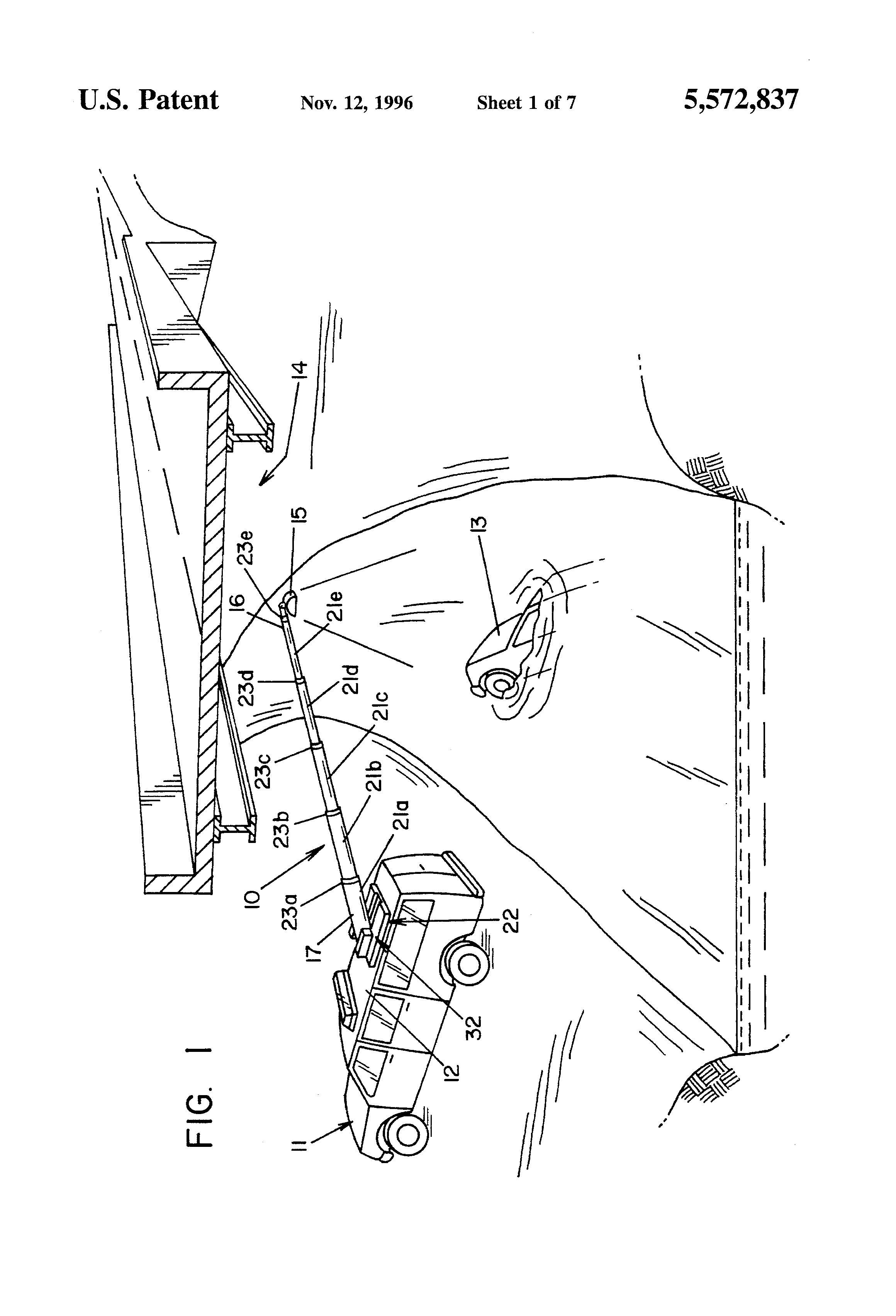 Patent Us5572837 Pneumatic Telescoping Mast Google Patenti Genie Wiring Diagrams Hydraulic And Drawing