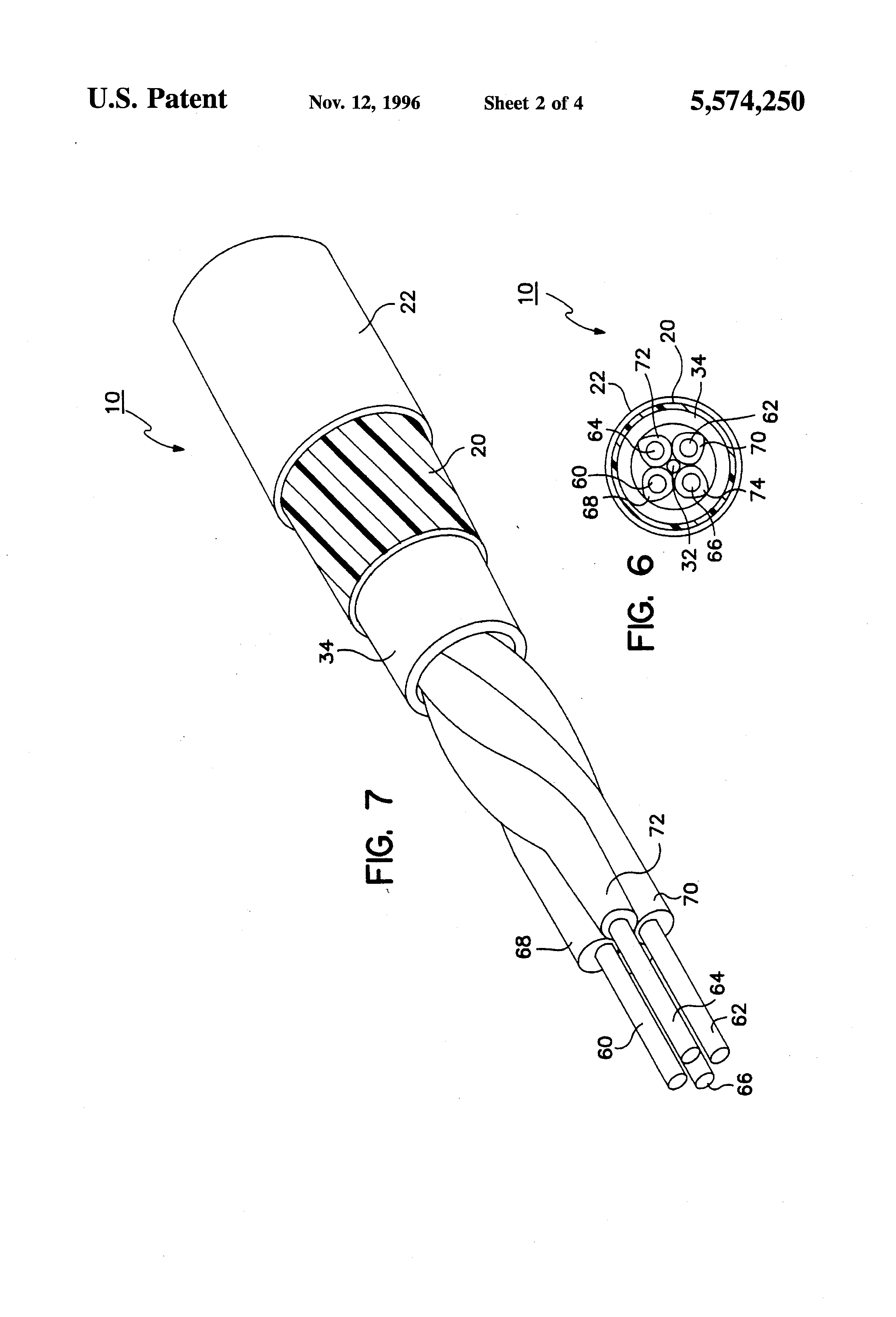 patent us5574250