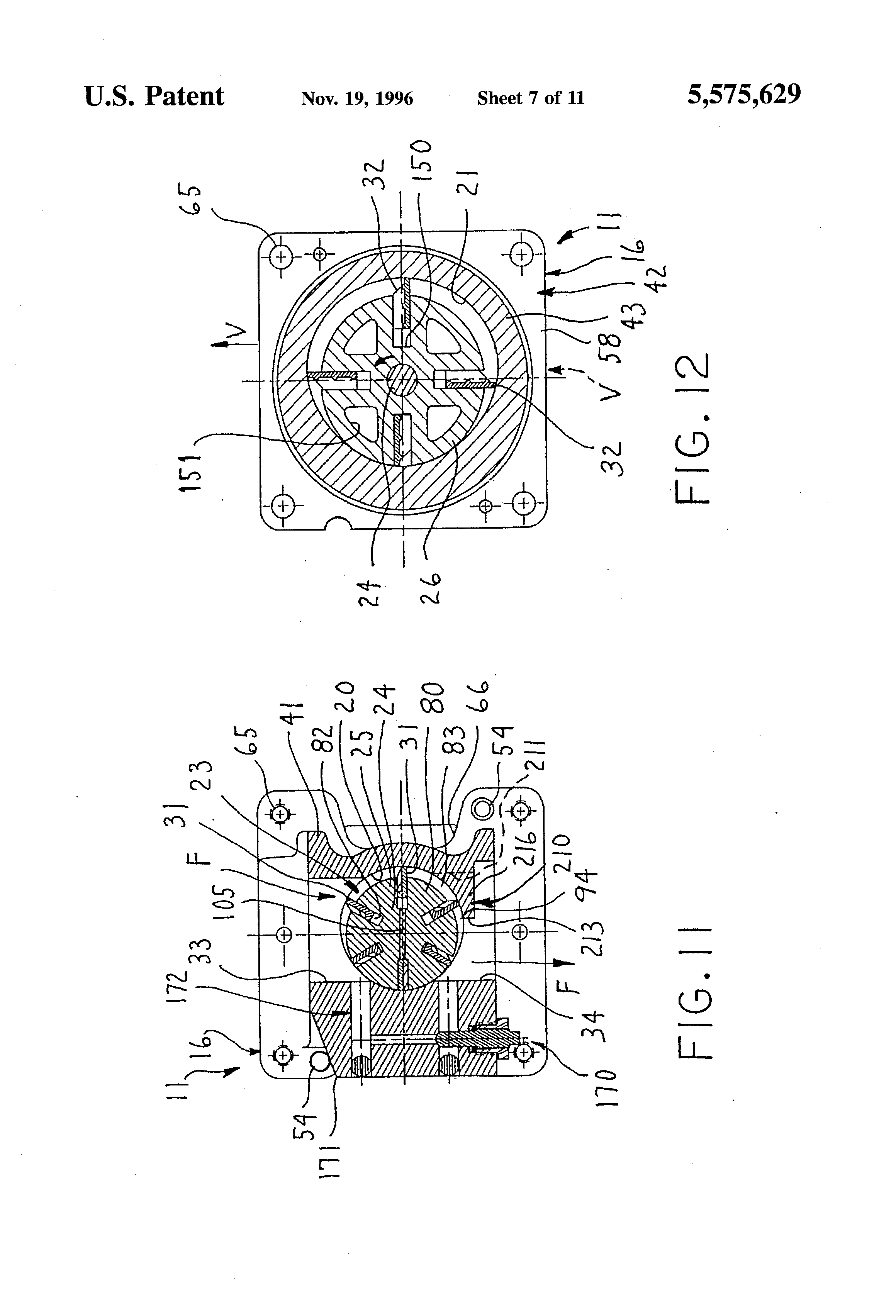 Patent Us5575629 Vapor Control System Google Patents Y210 Circuit Diagram Drawing