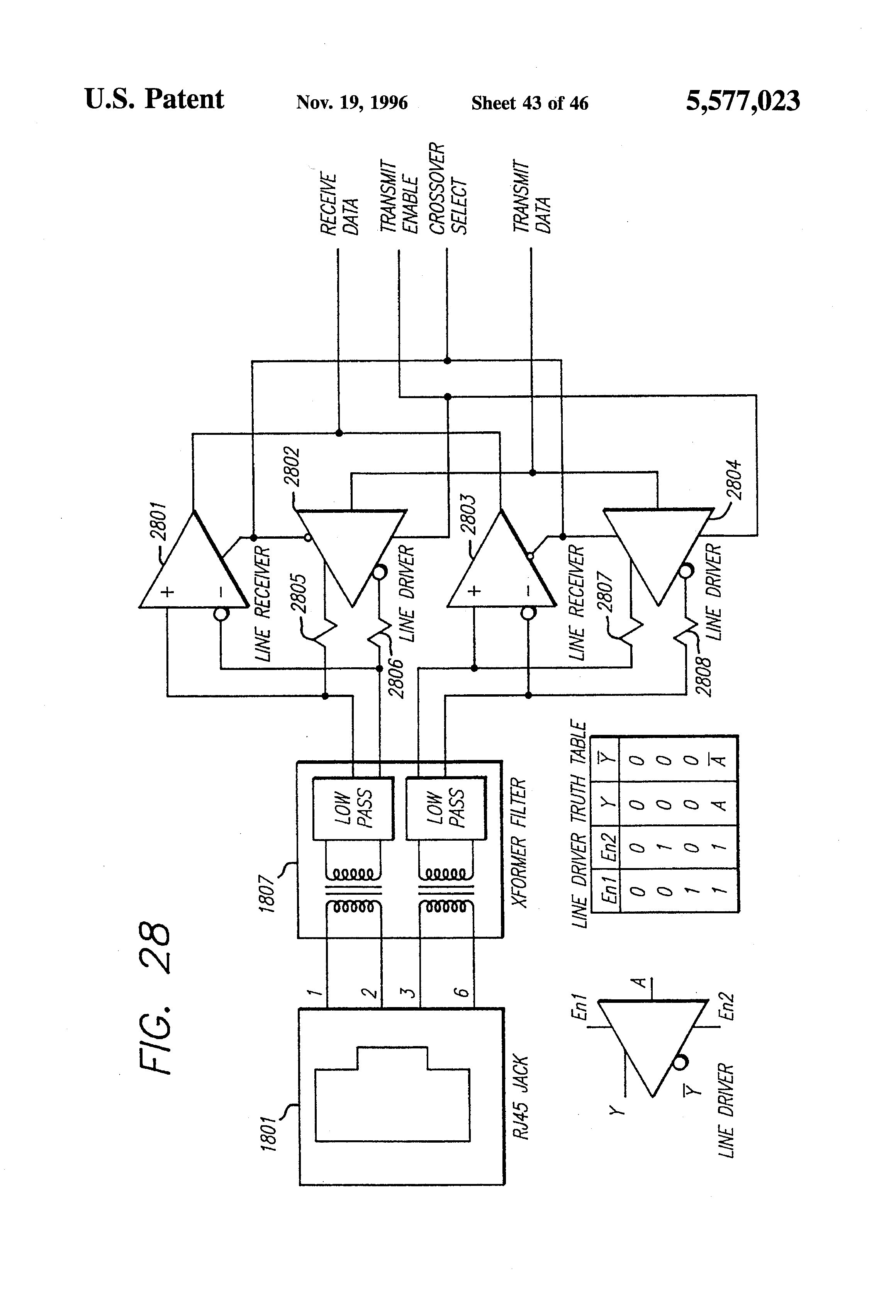 Patent US5577023 - Method and apparatus for automatic