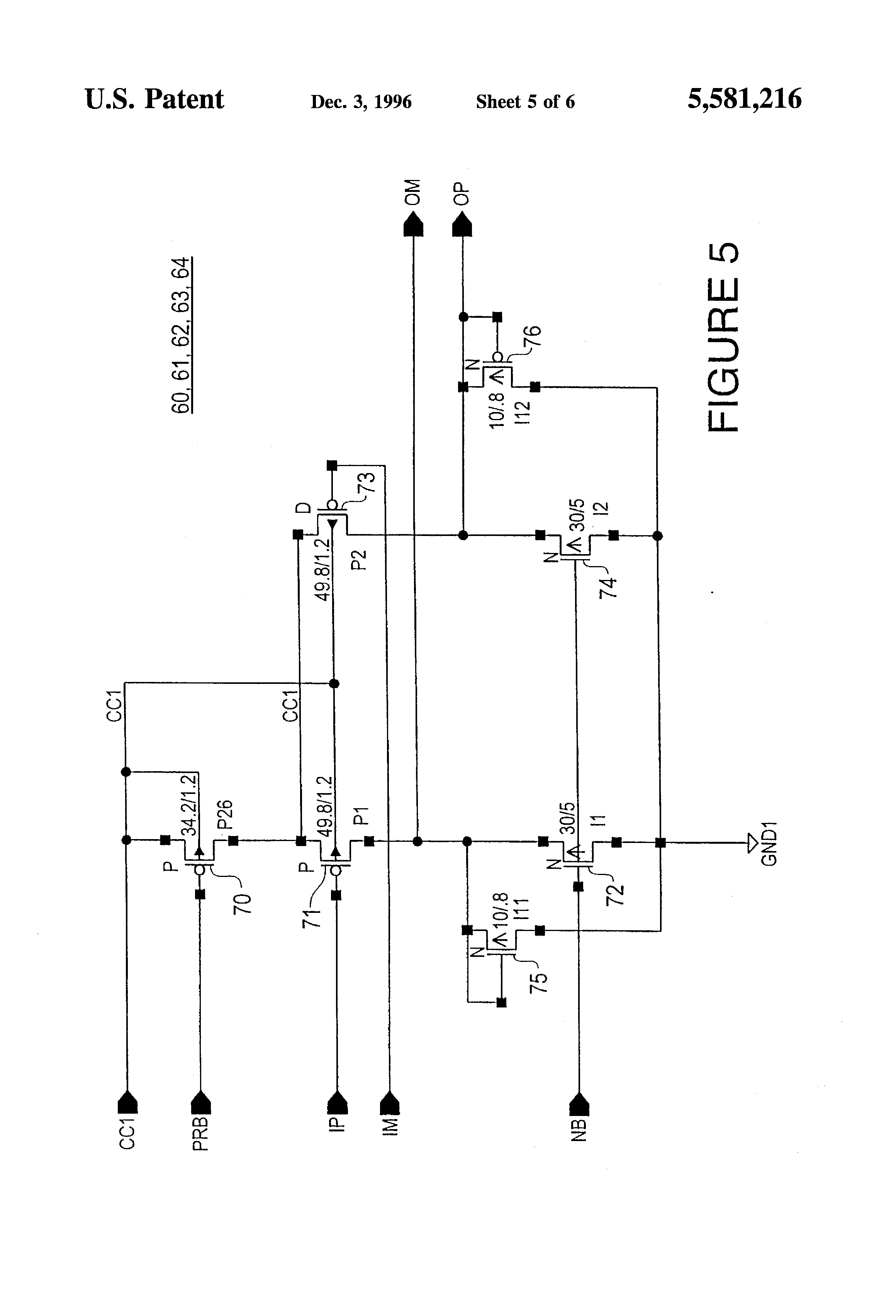 patent us5581216 - low jitter voltage controlled oscillator  vco  circuit