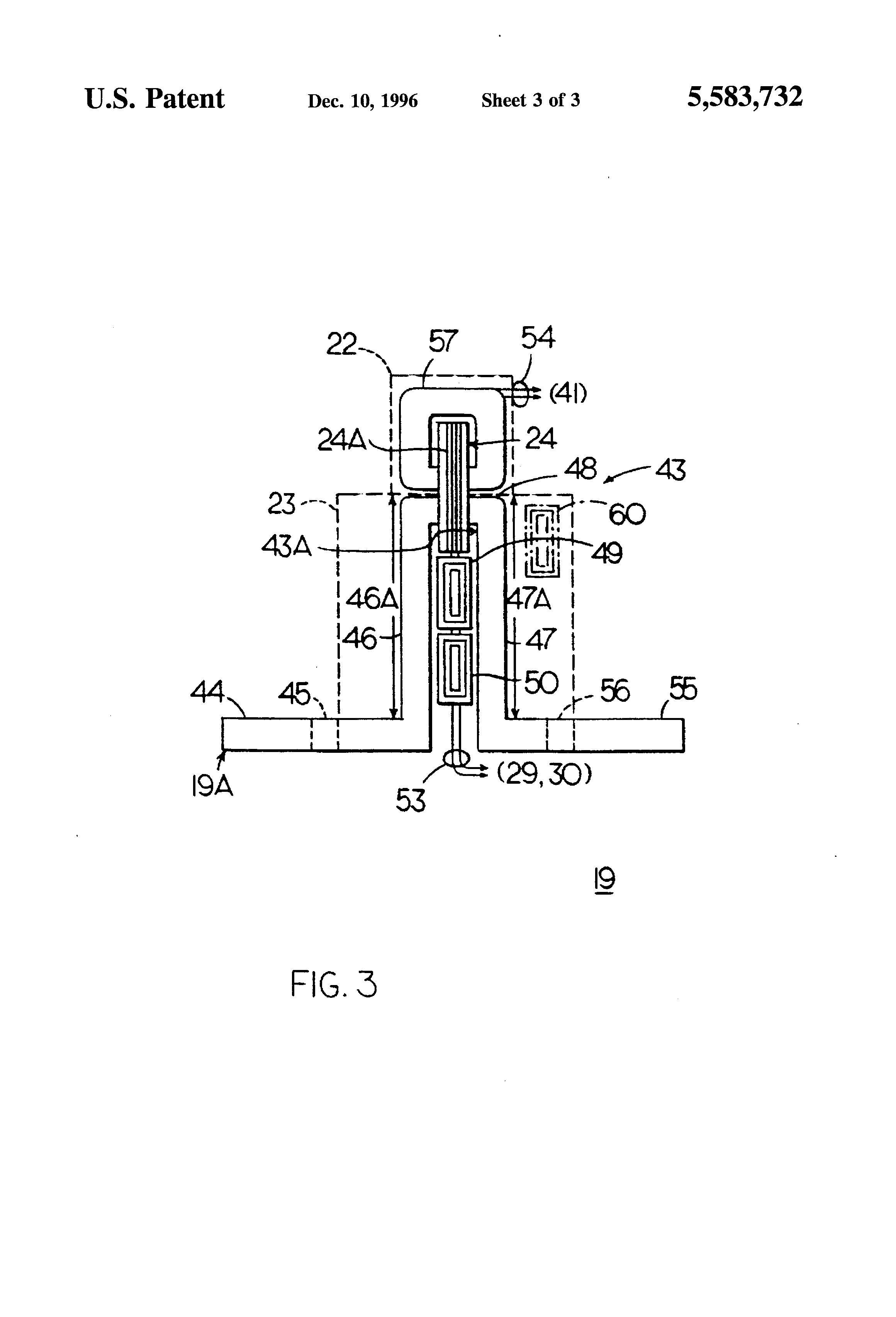 patent us5583732