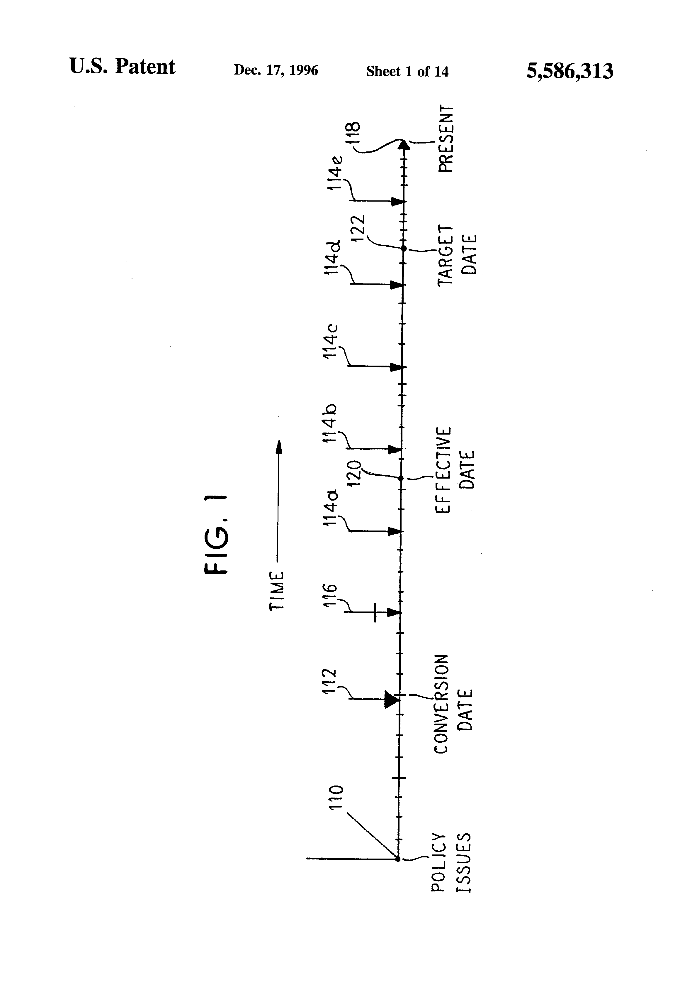 Patent US5586313 - Method for updating a file - Google Patents