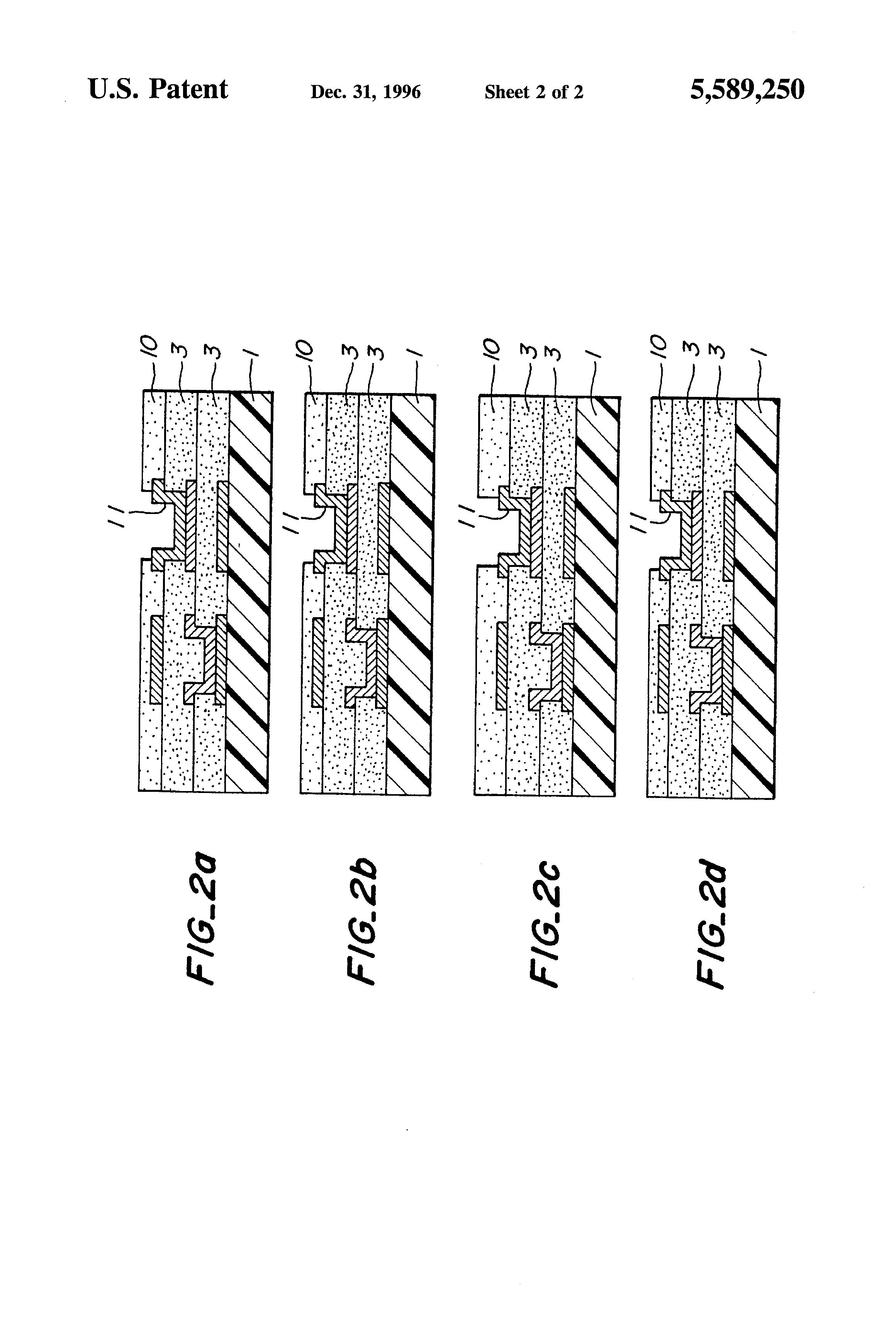 patent us5589250