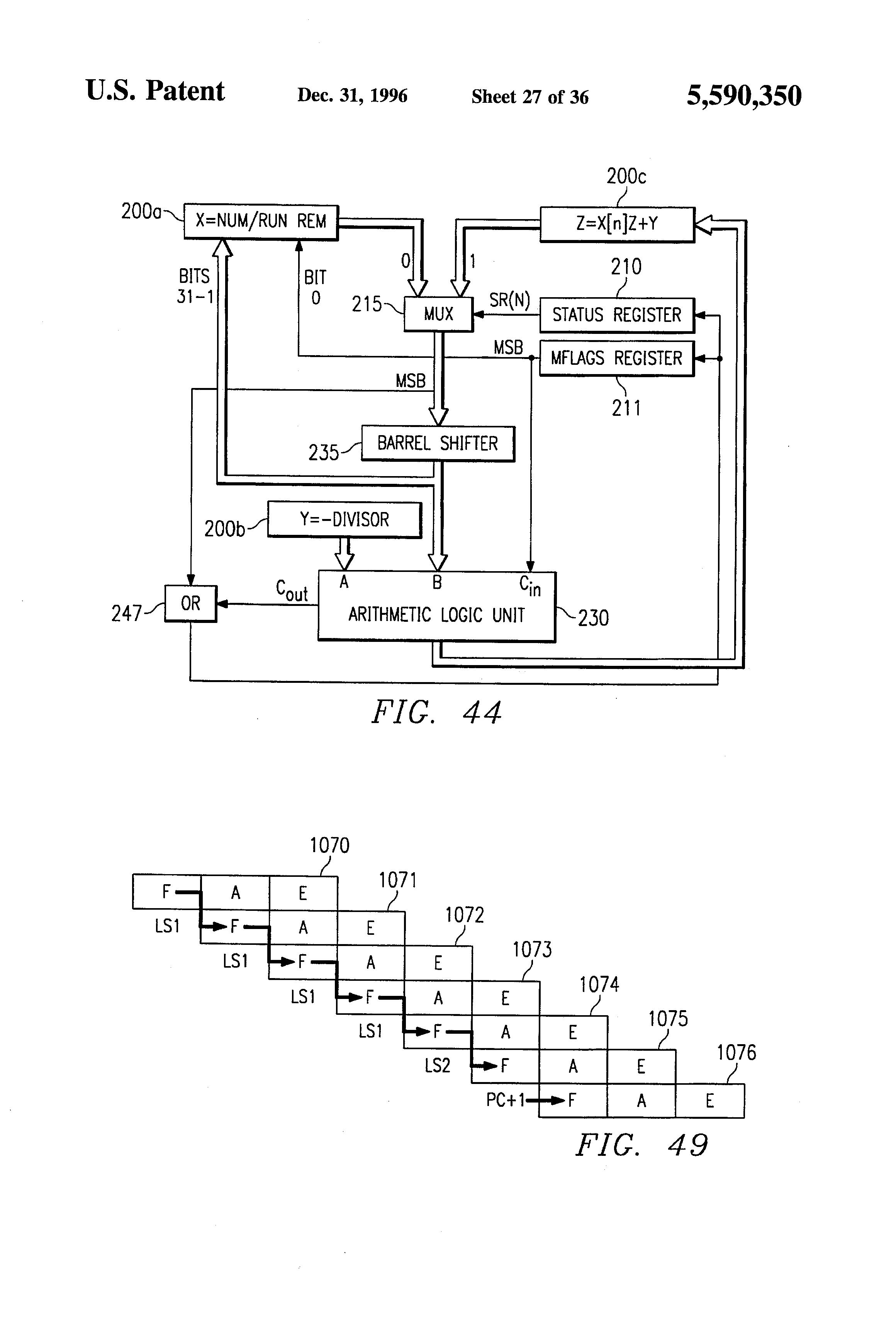 patent us5590350