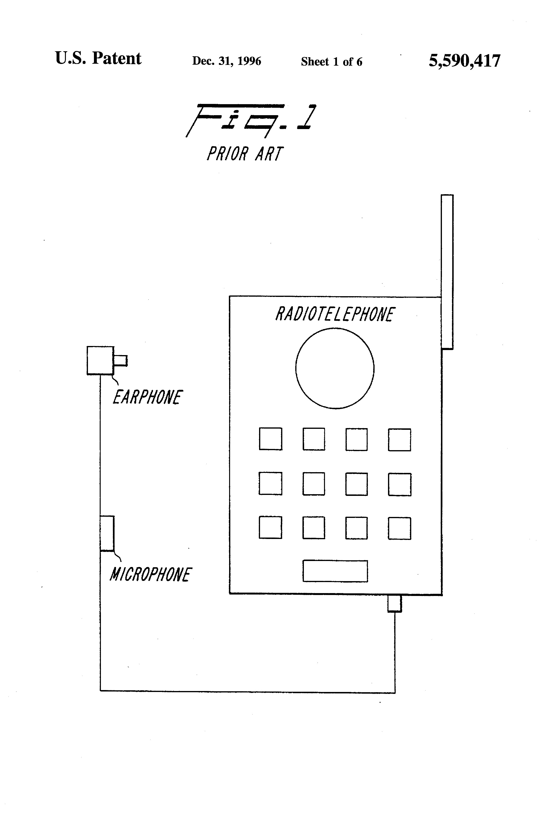 Handfree Switch Device For Wireless Intercom Google Patents Wire 10pcsfr4coppercladcircuitboardsinglepcb70x100x15mmstable Patent Us5590417 Radiotelephone Apparatus Including A Rh Com Pg
