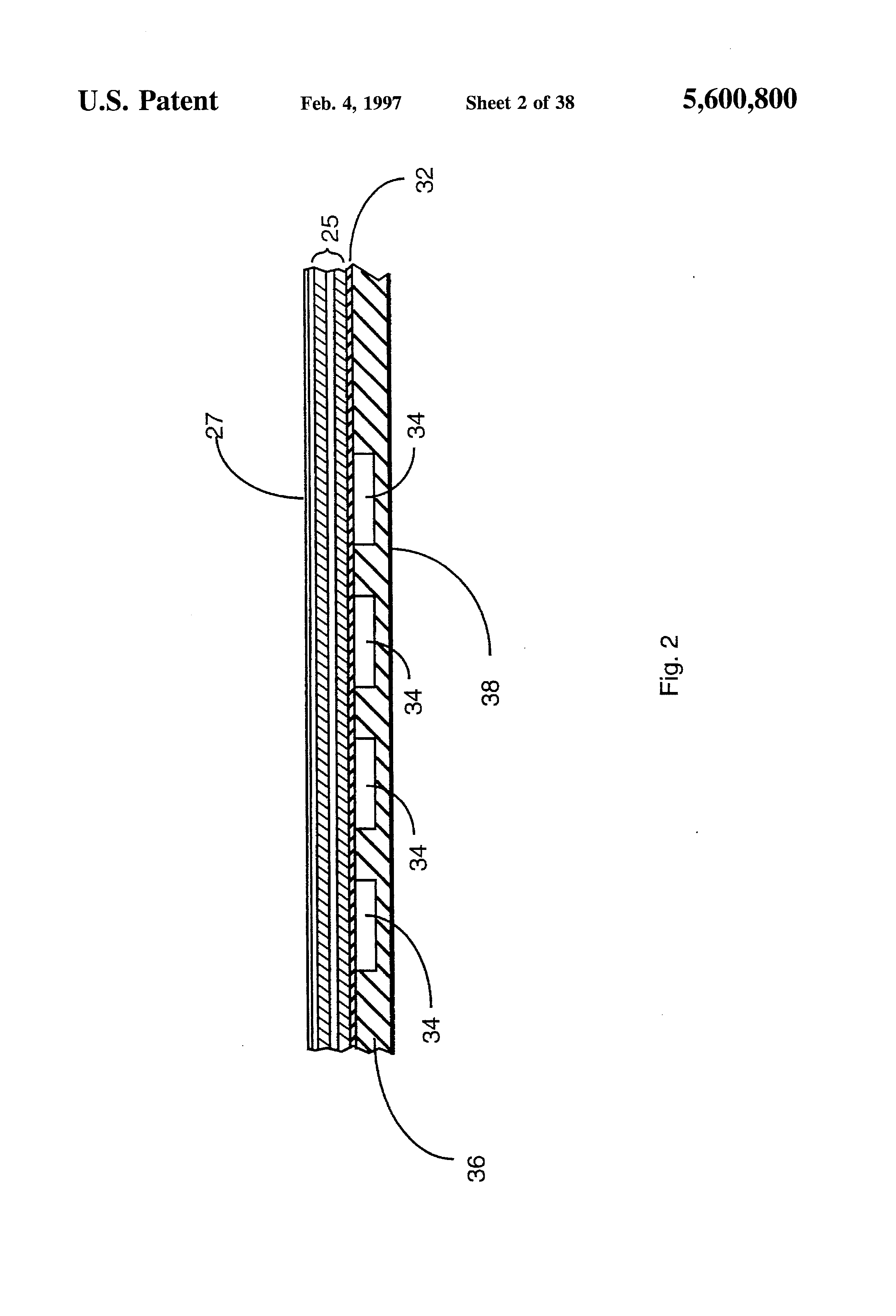 Patent Us5600800 Personal Computer System Having A Docking Bay And Figure 2 Simplified Schematic Diagram Of Hard Drive Internals Drawing