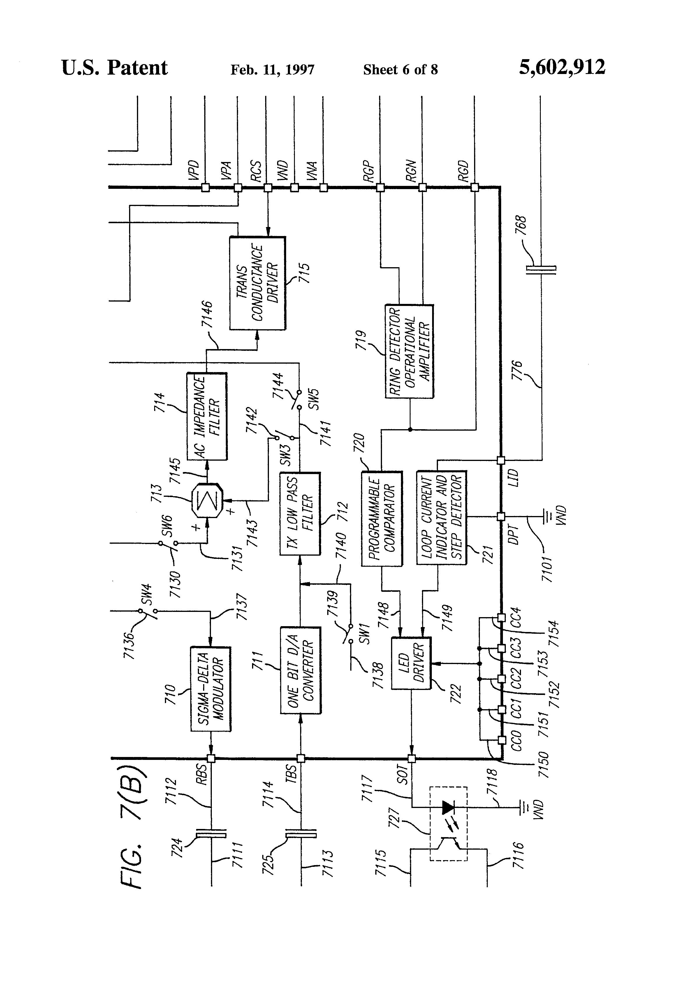 hybrid network diagram telephone hybrid circuit diagram #7