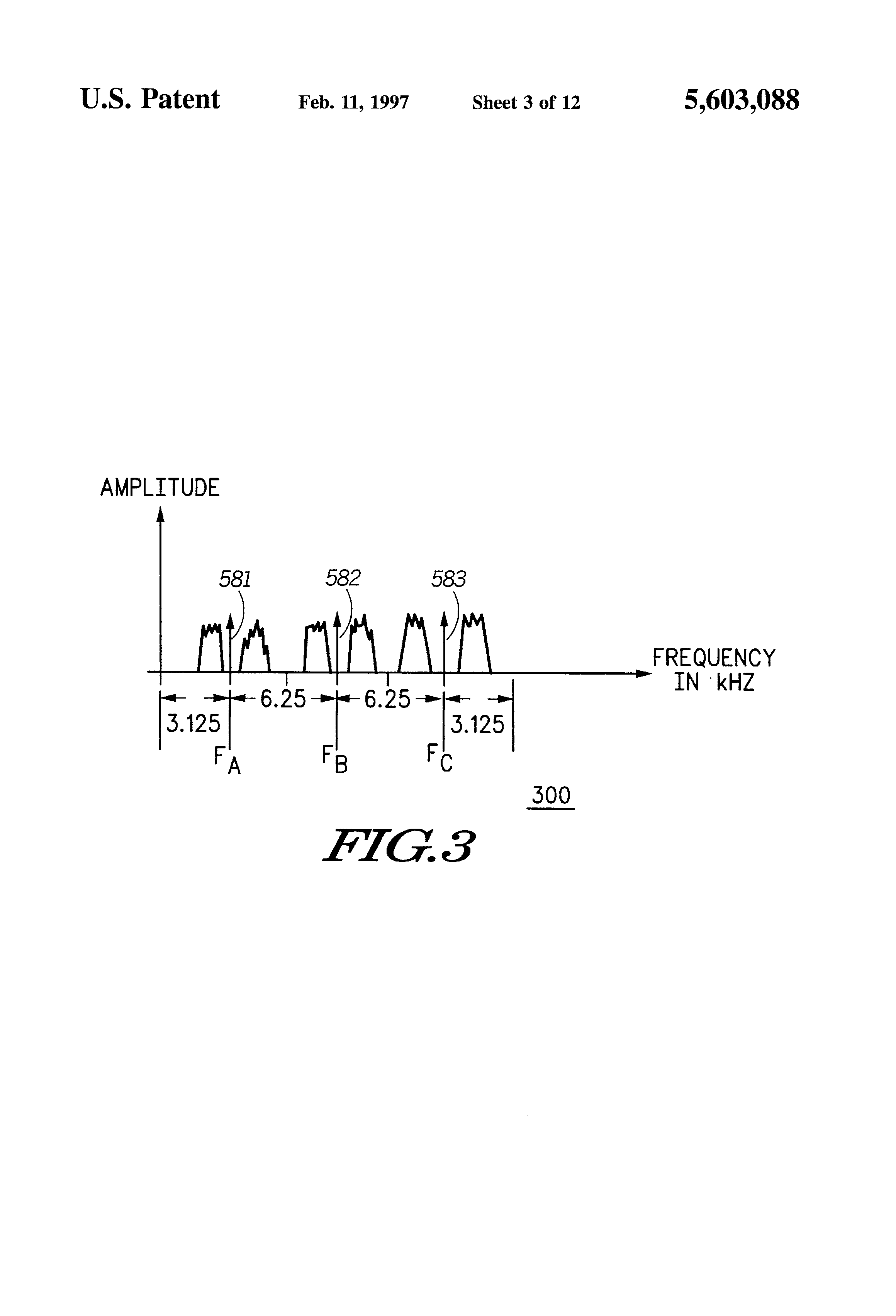 Patent Us5603088 Method And Apparatus For Determining A Quality Fig 103 Fm Radio Using Af If Rf Amplifiers Drawing
