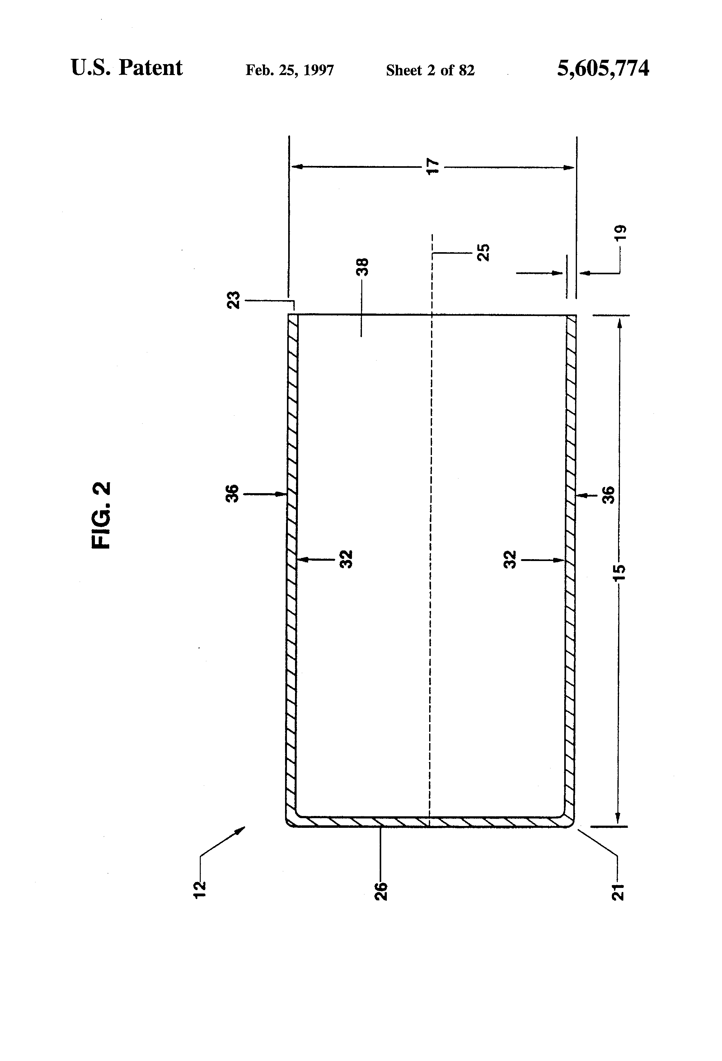Patent us5605774 ionically permeable separator for leclanche patent drawing pooptronica Images