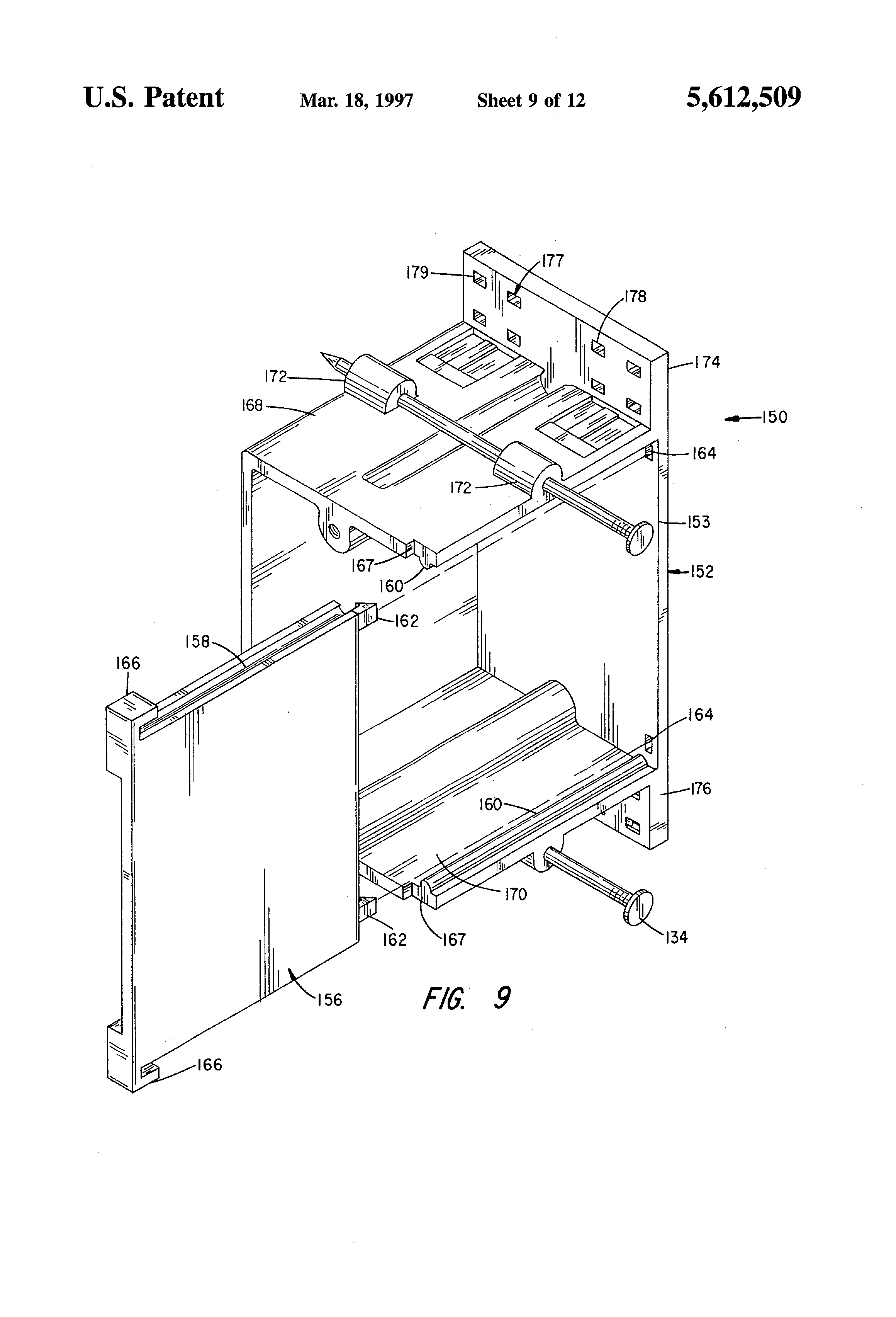 patent us5612509 - stackable wire staple and raceway system