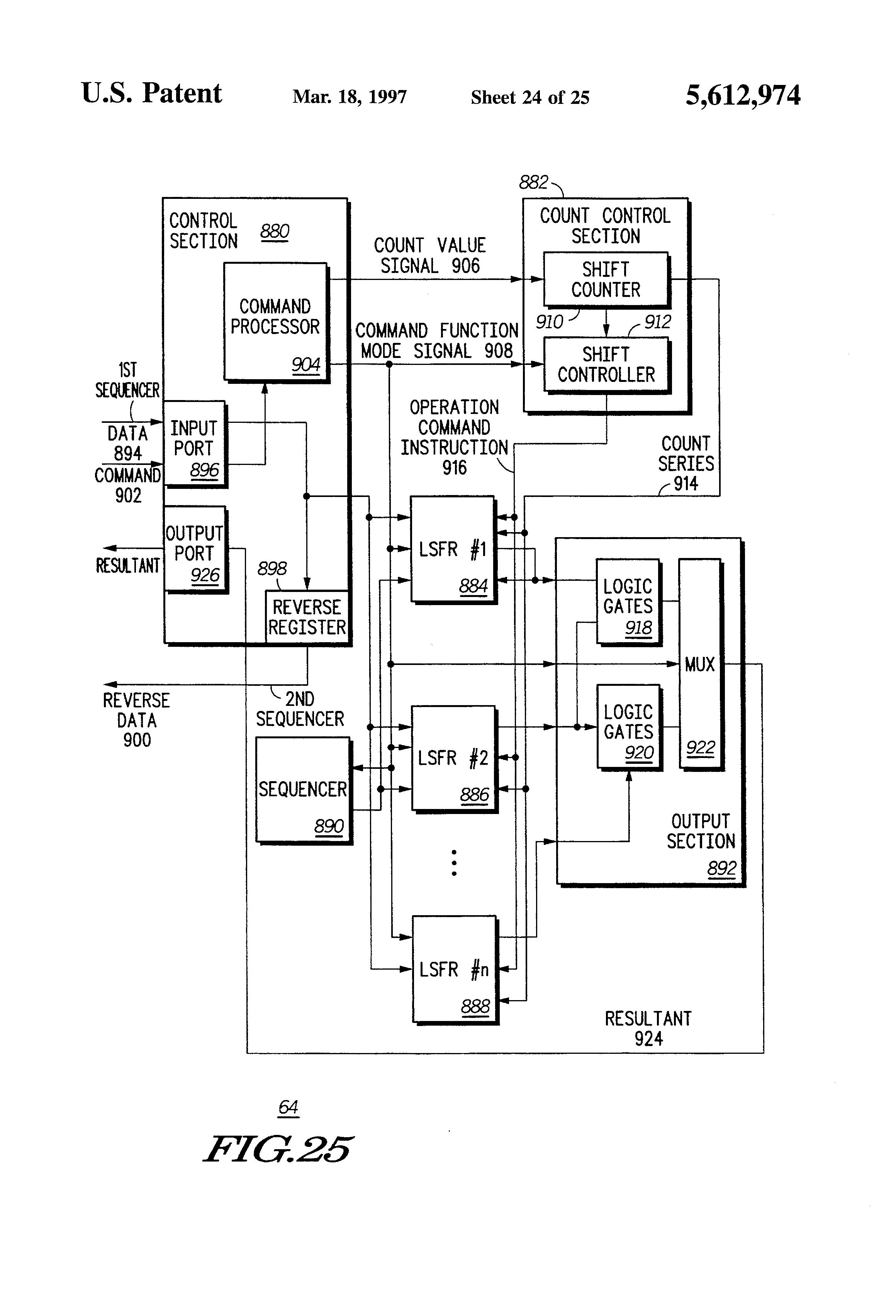 patent us5612974