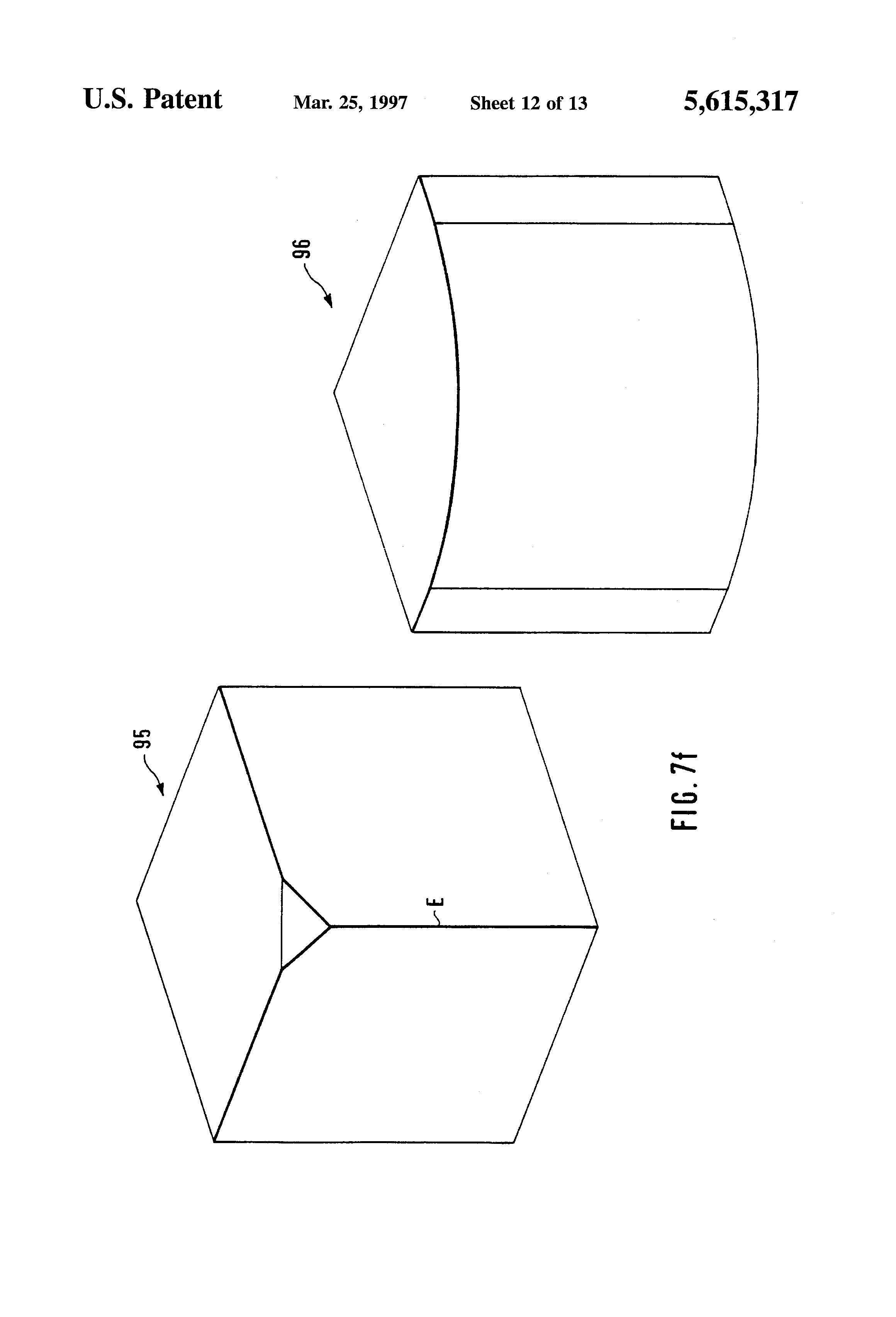 patent us5615317