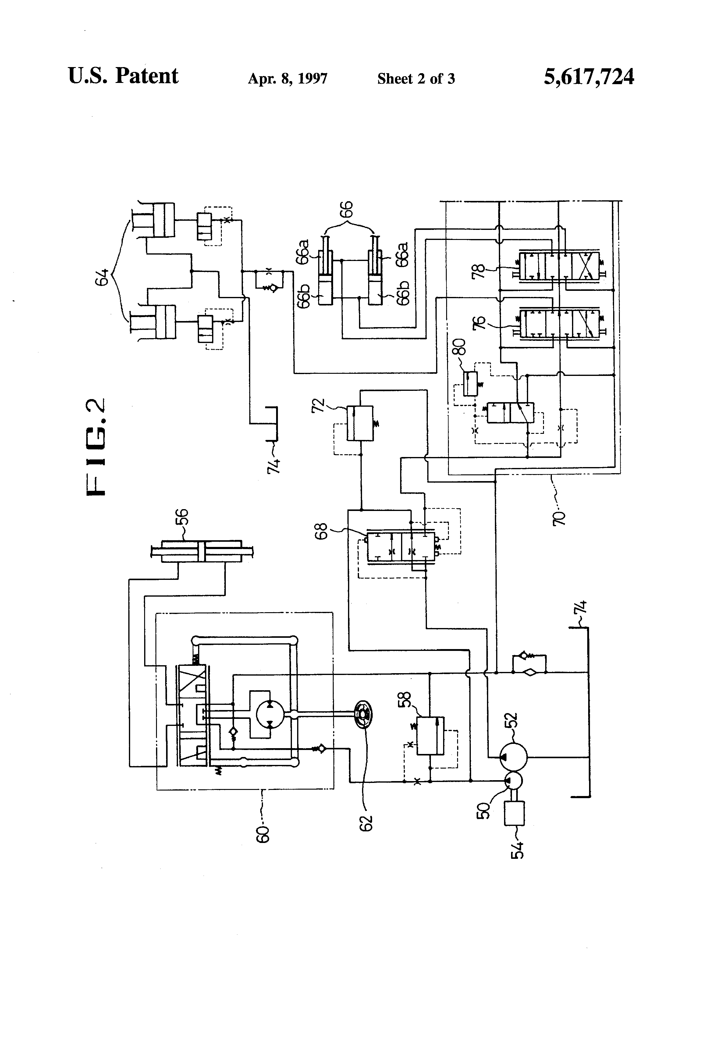 wiring diagram hydraulic clark forklift epc4you toggle switch wiring diagram hydraulic patent us5617724 - hydraulic control system for use in a ...