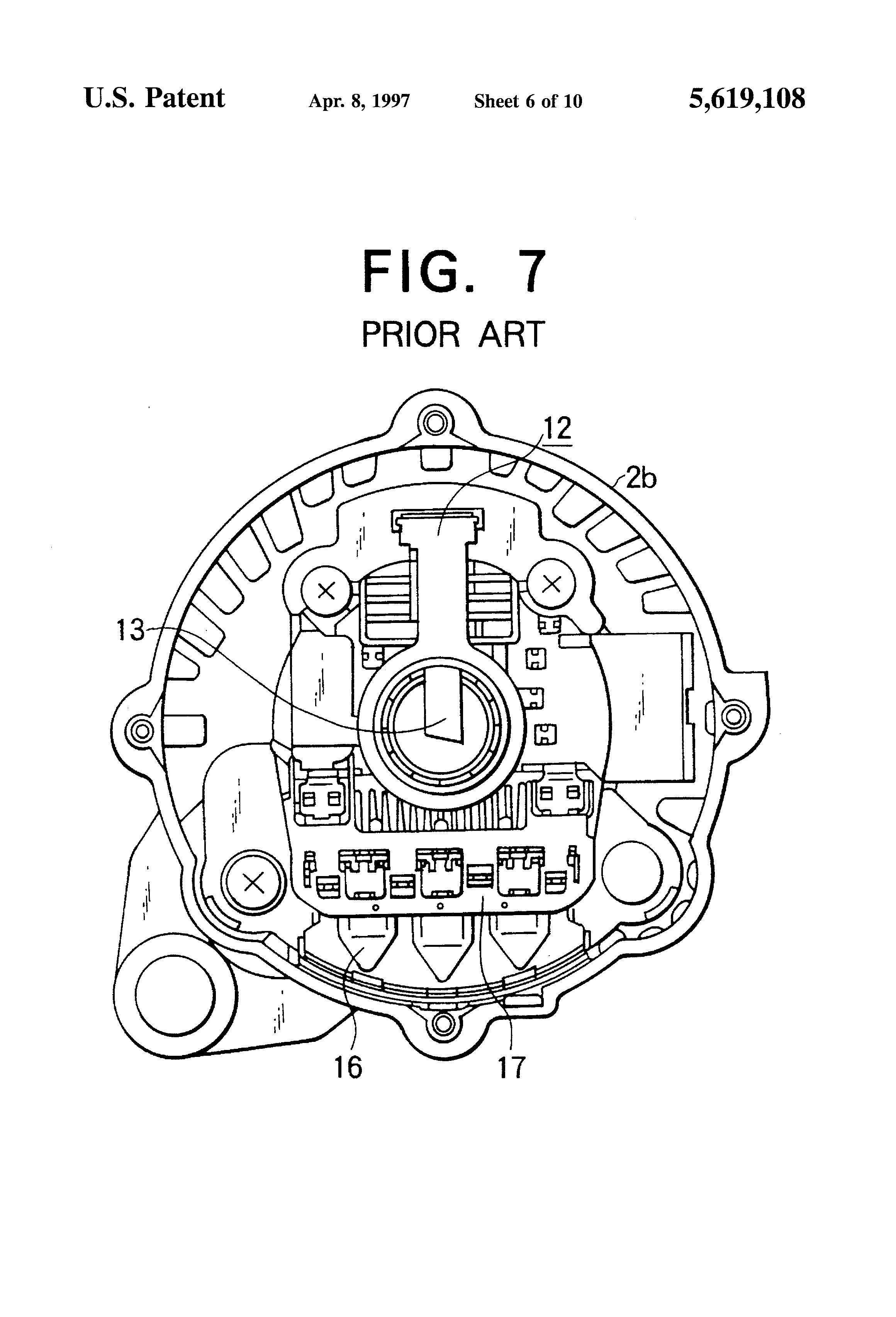patent us5619108