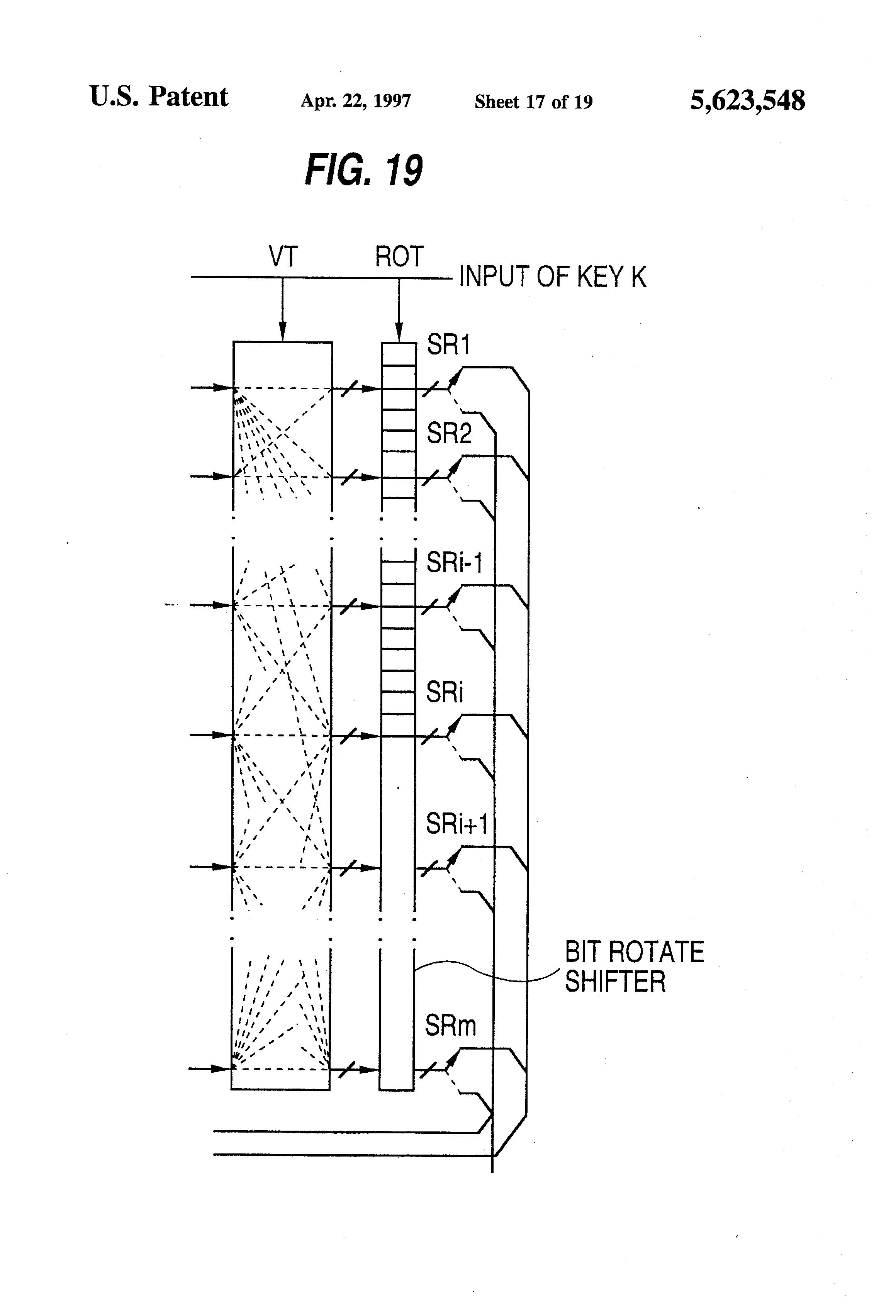 patent us5623548