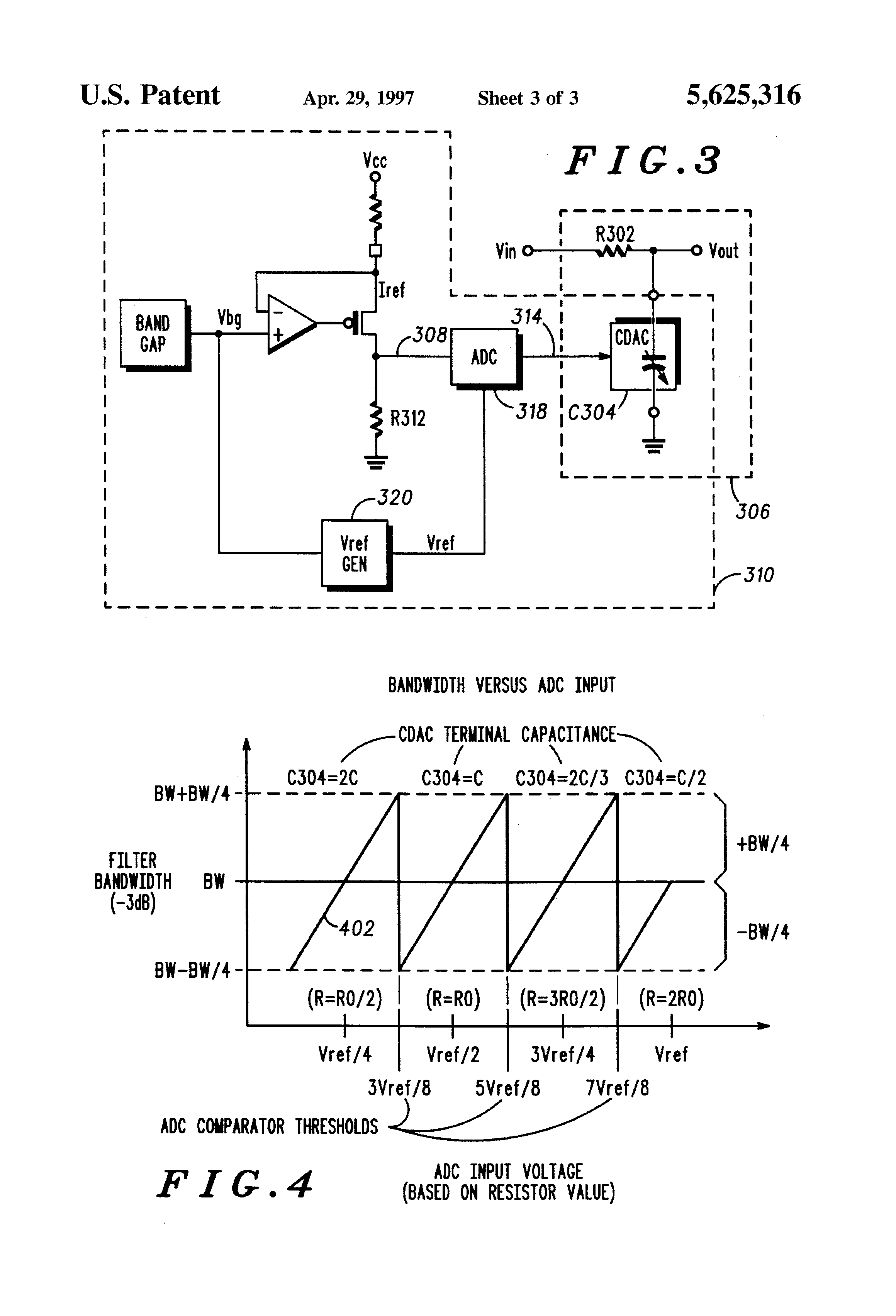 Patent US5625316 - Tuning circuit for an RC filter - Google