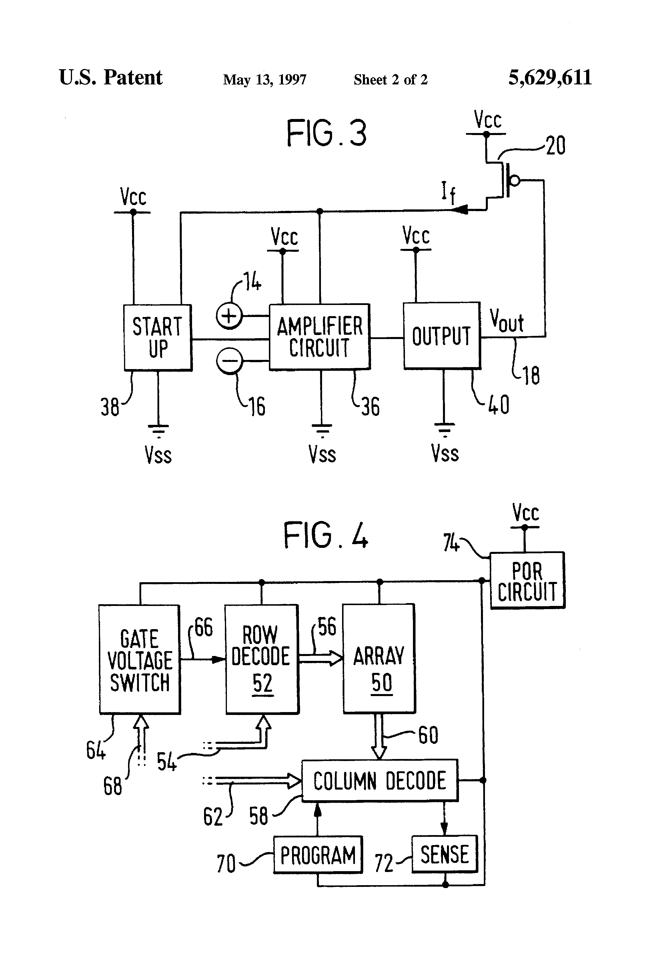 Current Detection Part Circuit Diagram Amplifiercircuit Patent Us5629611 Generator For Generating Drawing