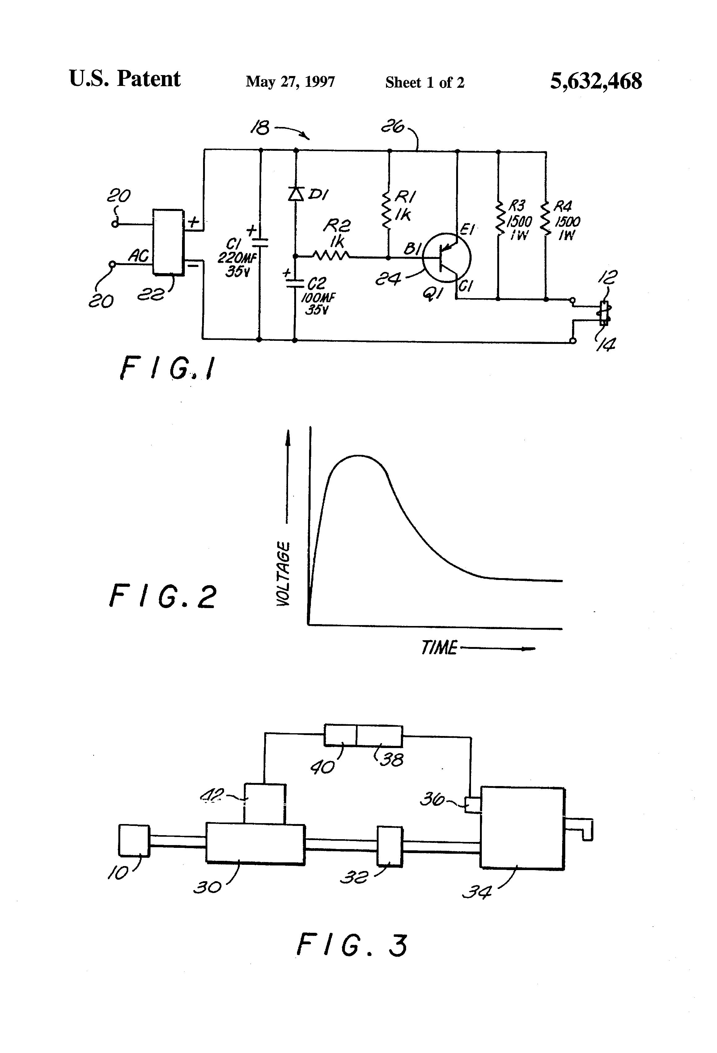Patent Us5632468 Control Circuit For Solenoid Valve Google Patents Regal Beloit Wiring Diagrams Drawing