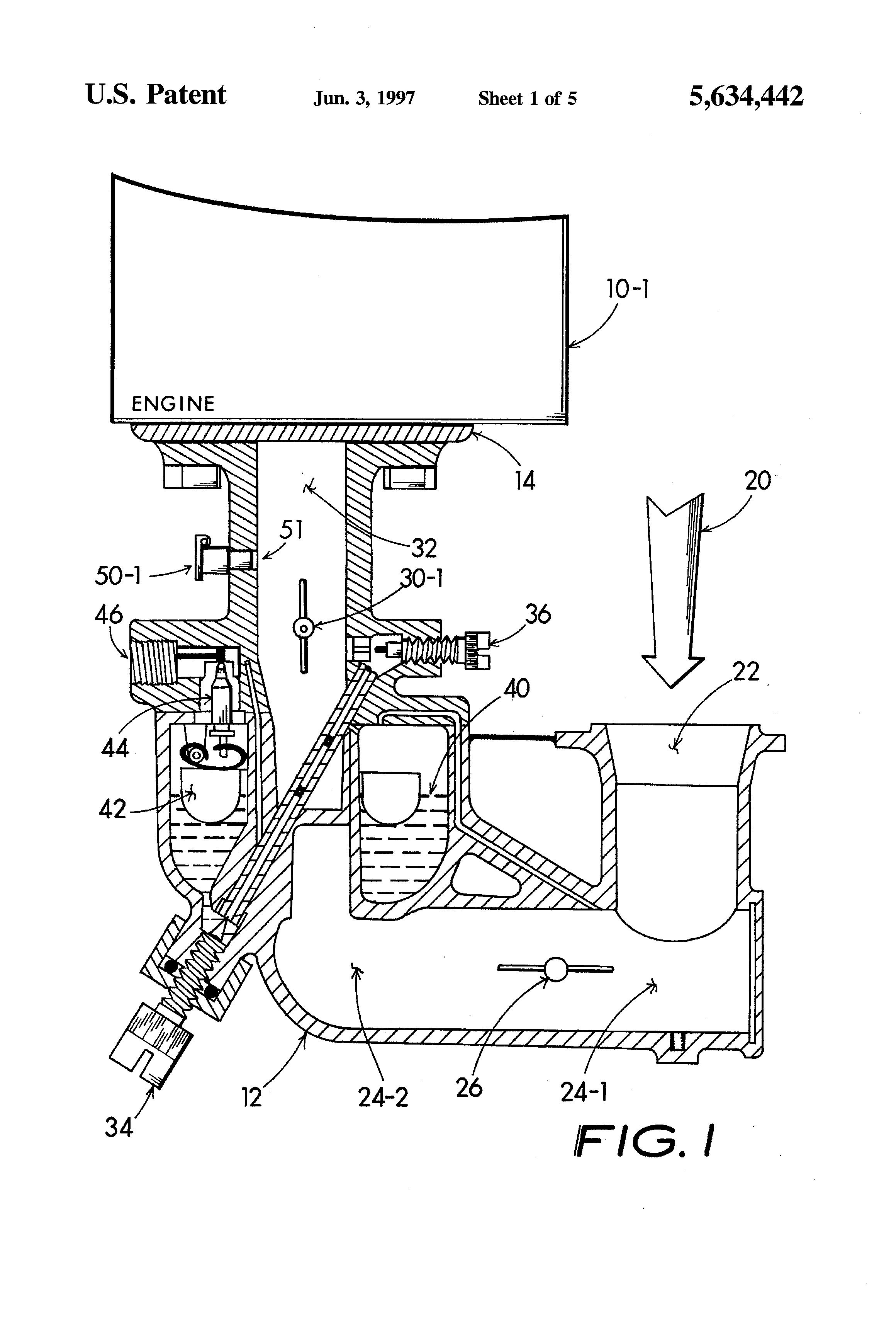 diagram of internal combustion engine firing
