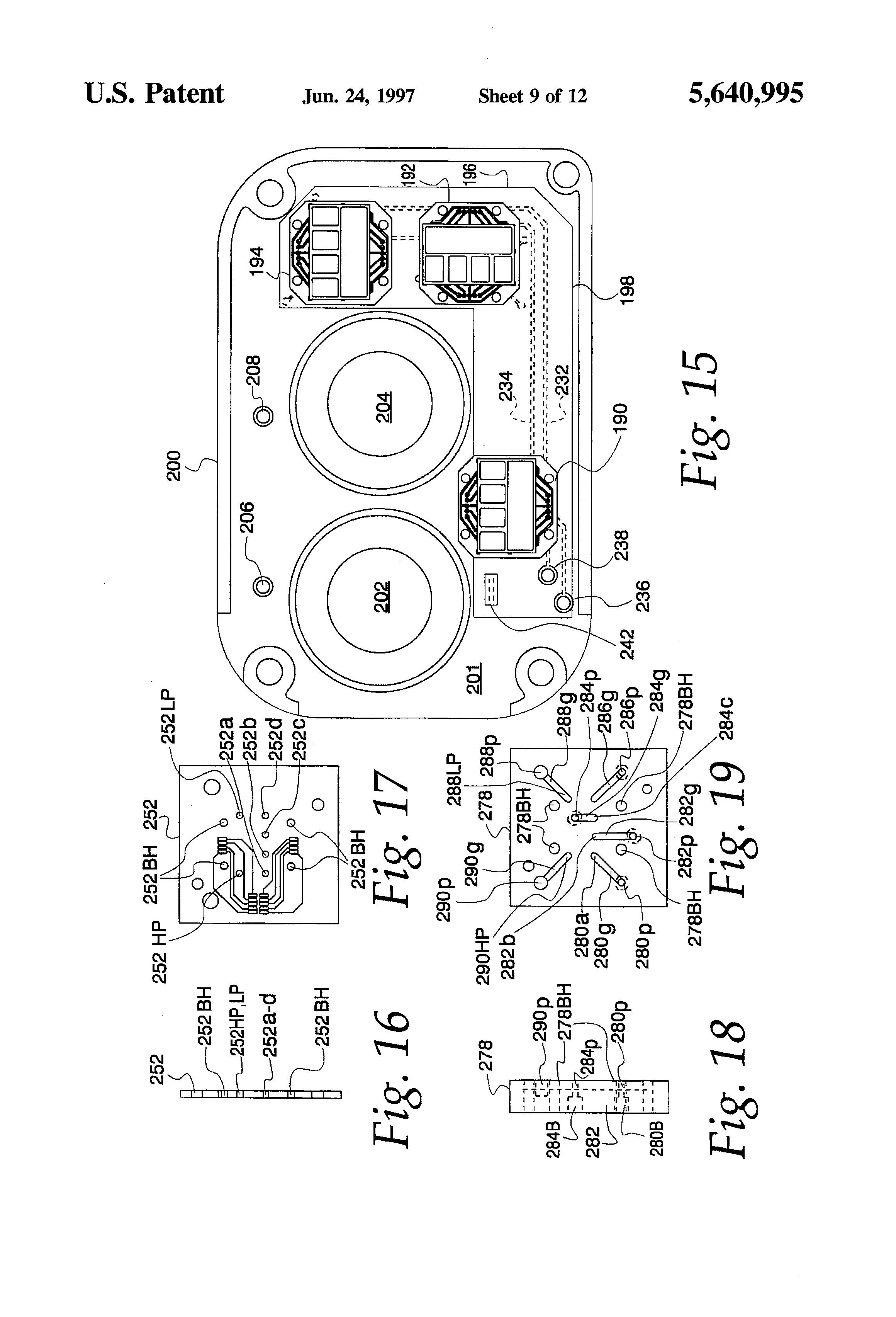 u041f u0430 u0442 u0435 u043d u0442 us5640995 - electrofluidic standard module and custom circuit board assembly