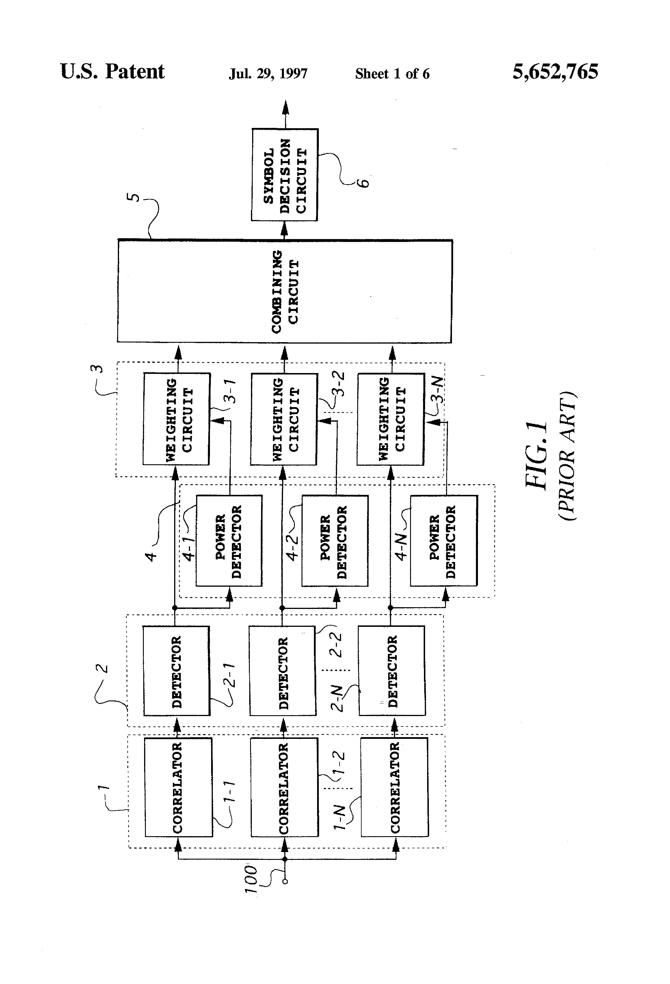 patent us5652765