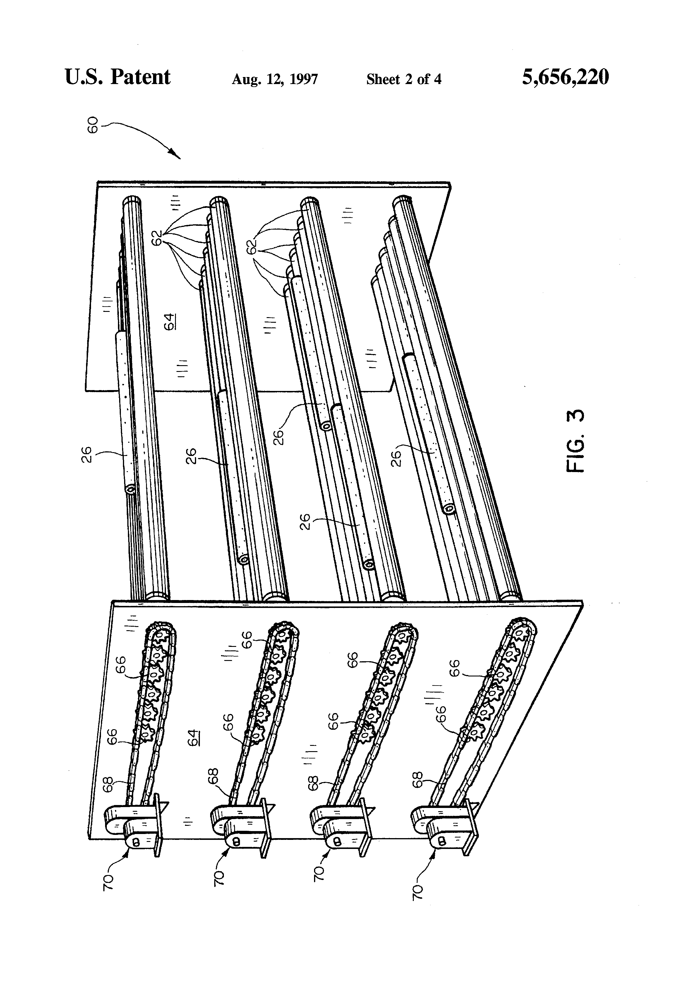 Patent Us5656220 Method For The Extrusion Of Ceramic