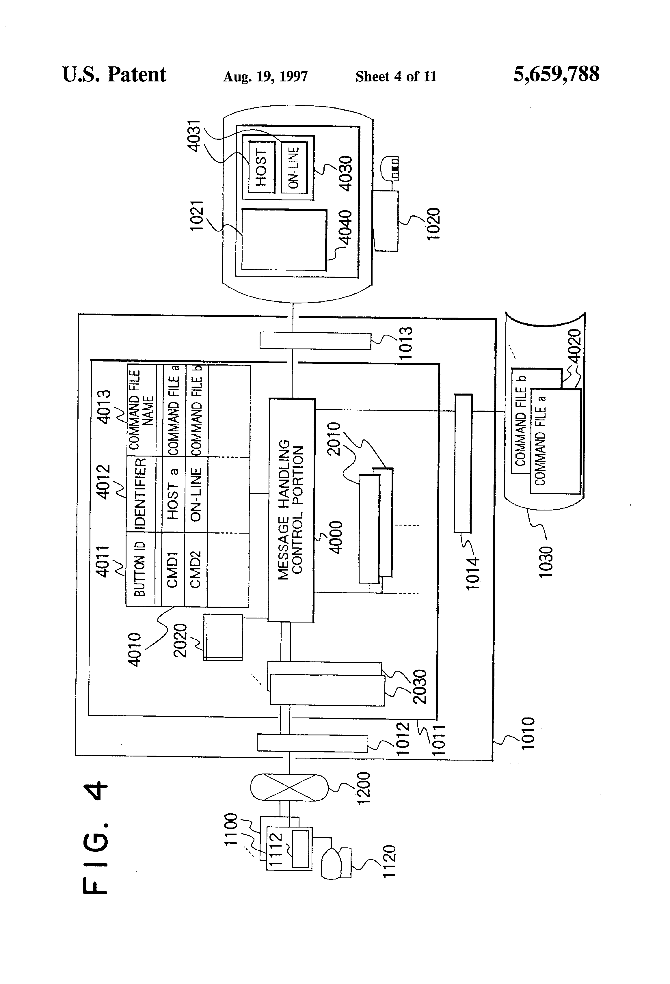 patente us5659788 management system comprising a unified
