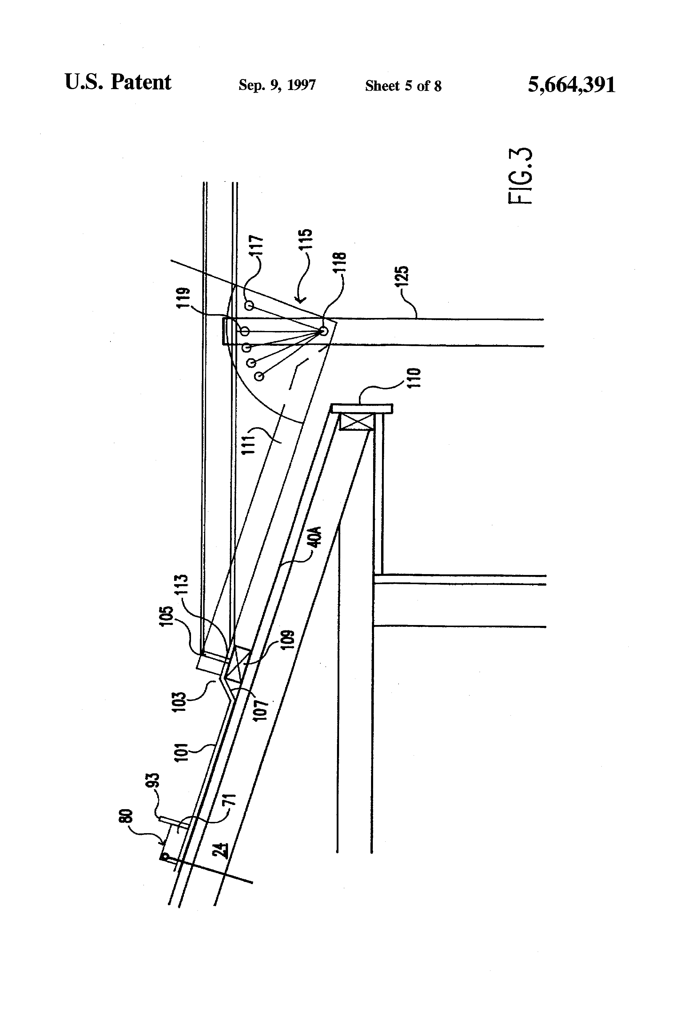 Patent Us5664391 Roof Anchor And Hanging Scaffold System