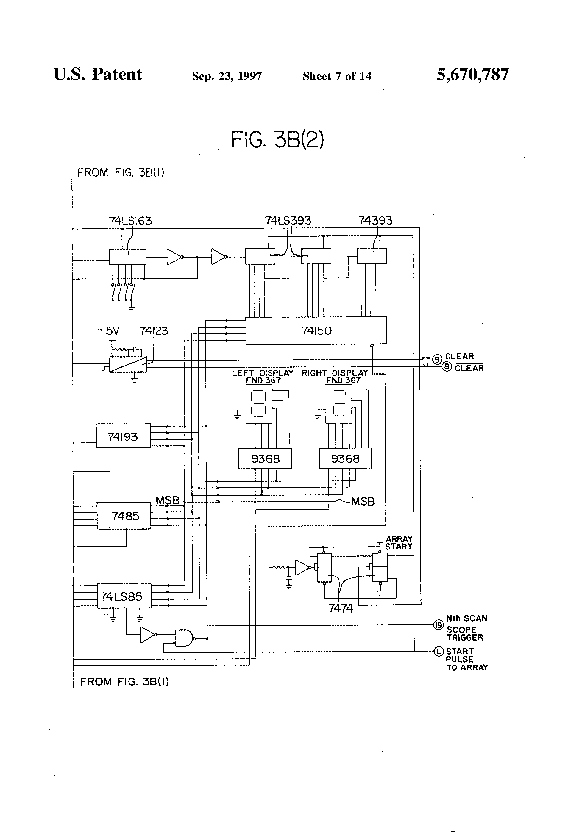 Patent Us5670787 Method And Apparatus For Electro Optically 7474 Pin Diagram Drawing