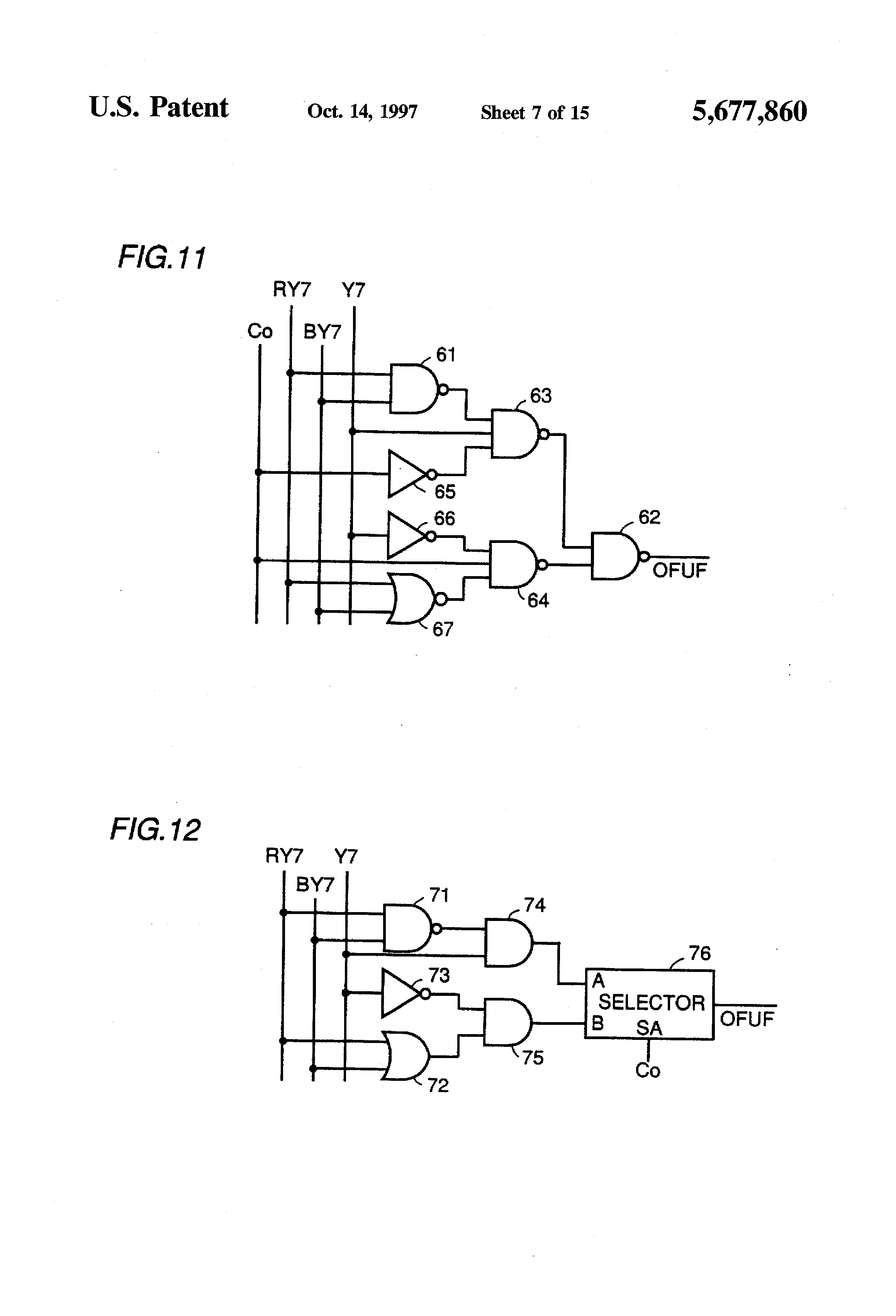 Patent us5677860 overflow and underflow processing circuit of a patent drawing pooptronica