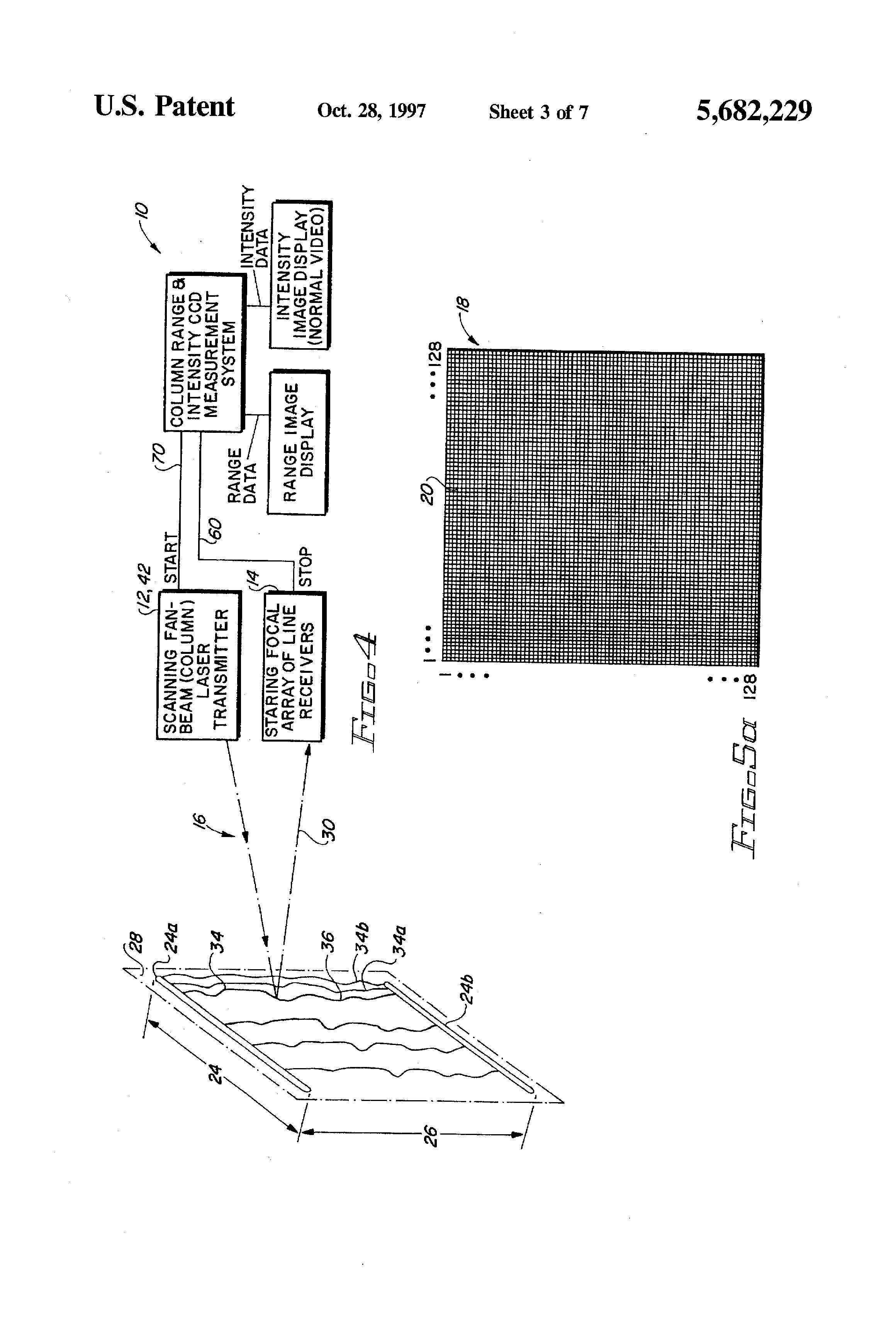 patent us5682229 laser range camera google patents rh google com pg