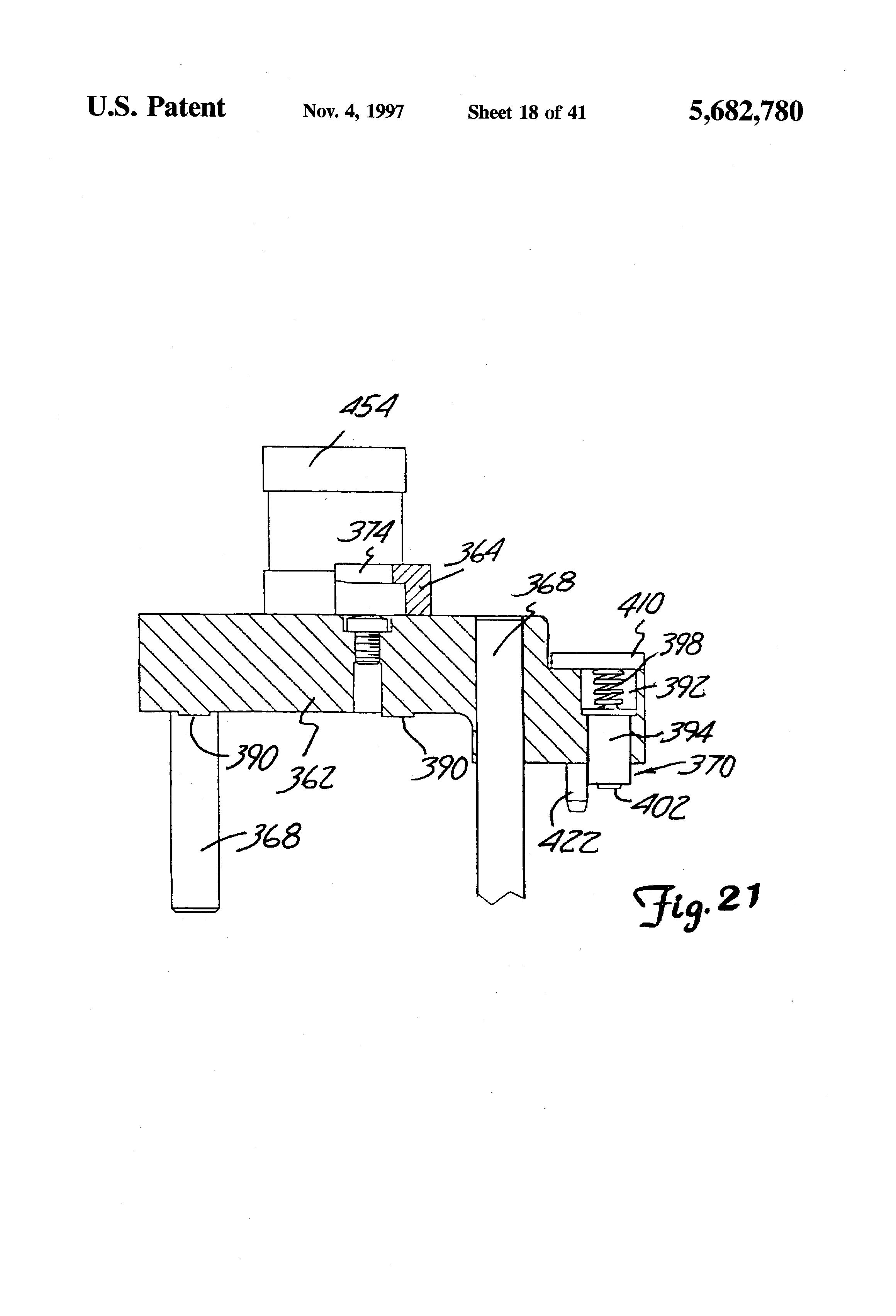 patent us5682780 gram load static attitude and radius