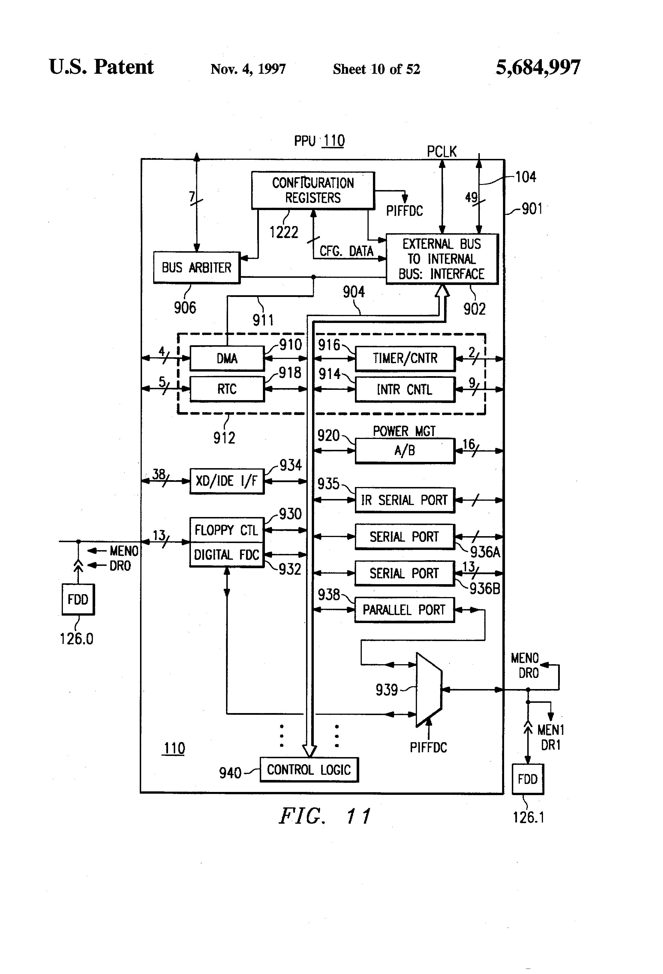 patent us5684997