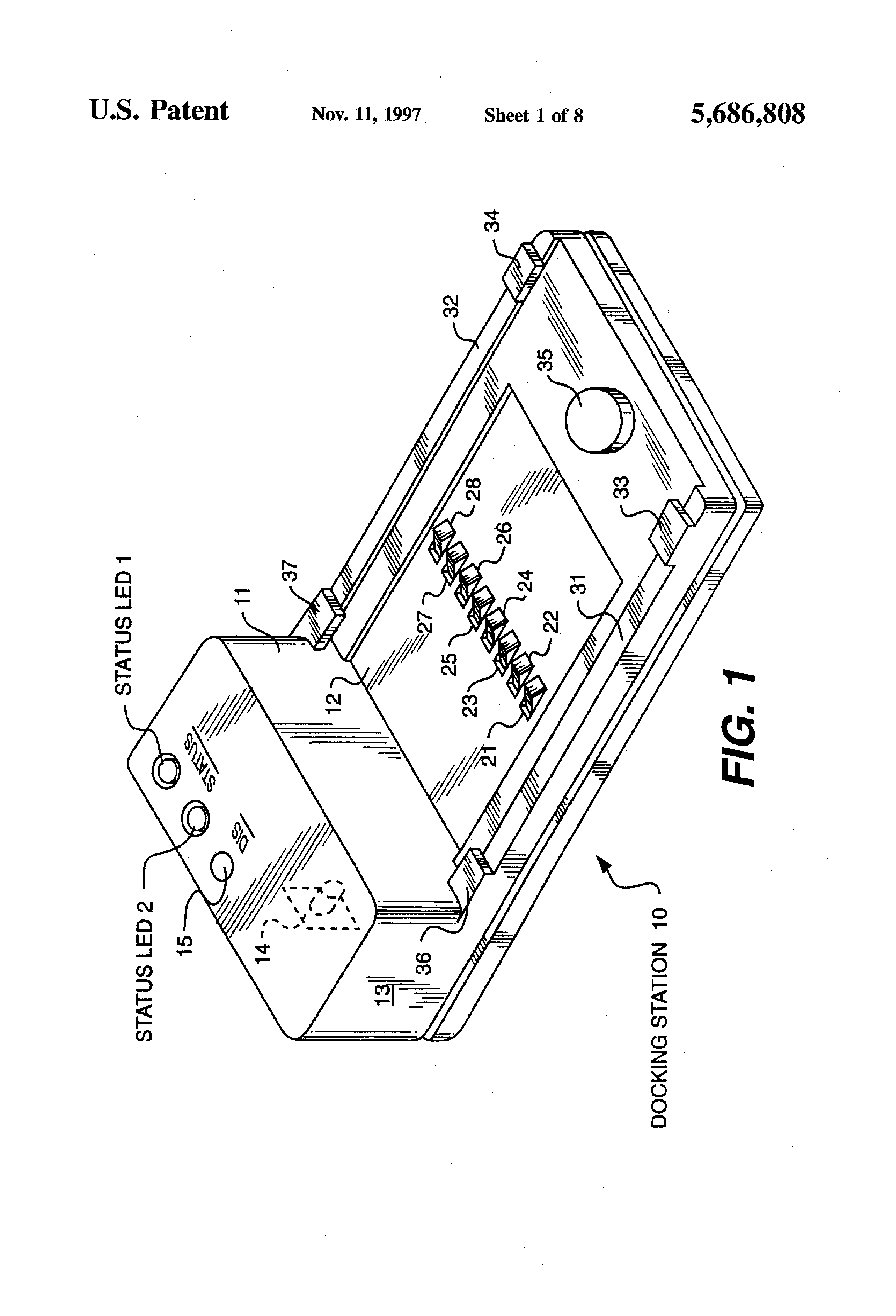 Patent Us5686808 Universal Battery Charger And Method Google Patents How To Build Nimh Nicd Circuit Drawing