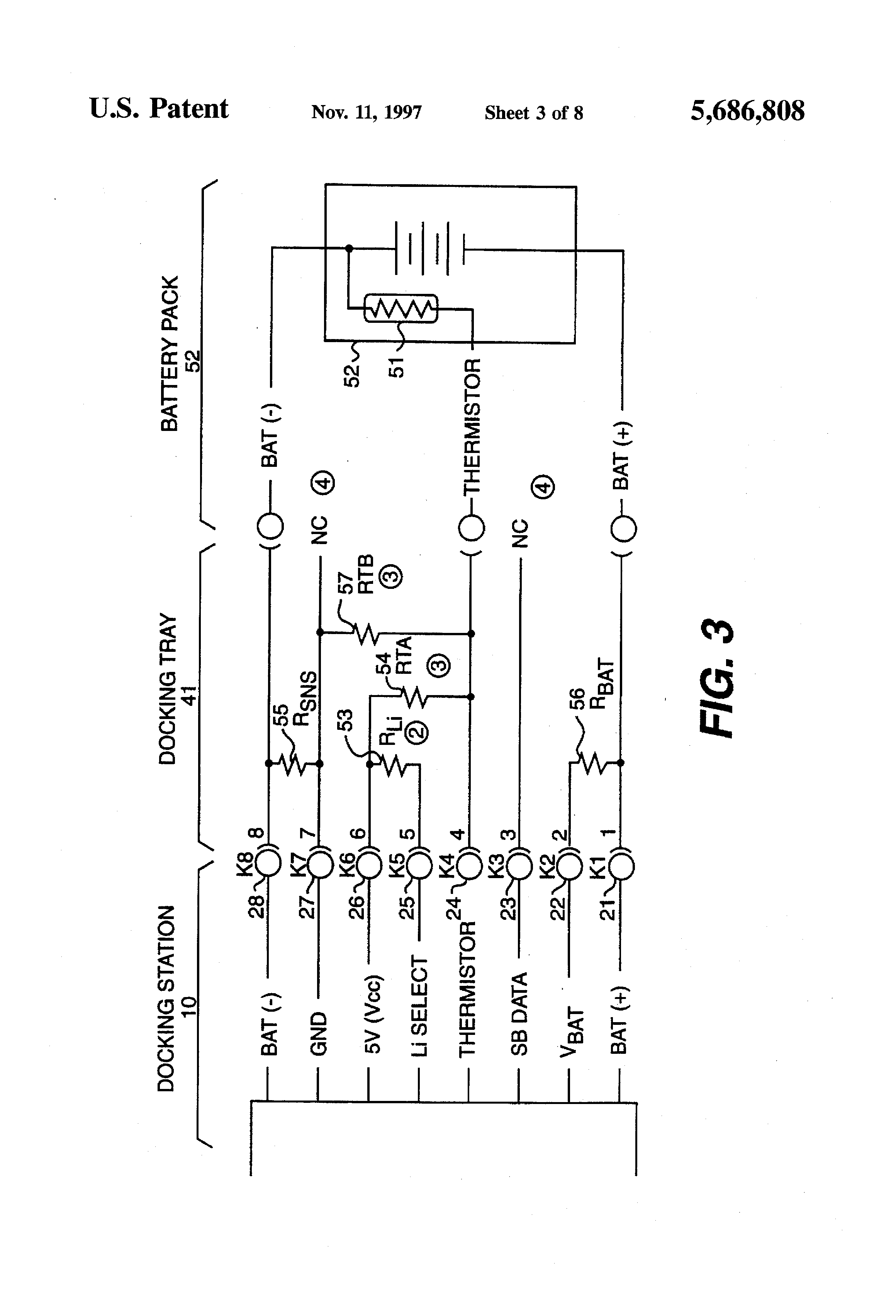 Patent Us5686808 Universal Battery Charger And Method Google Patents Simple Circuit Schematic Multiple For Nicd Nimh Drawing