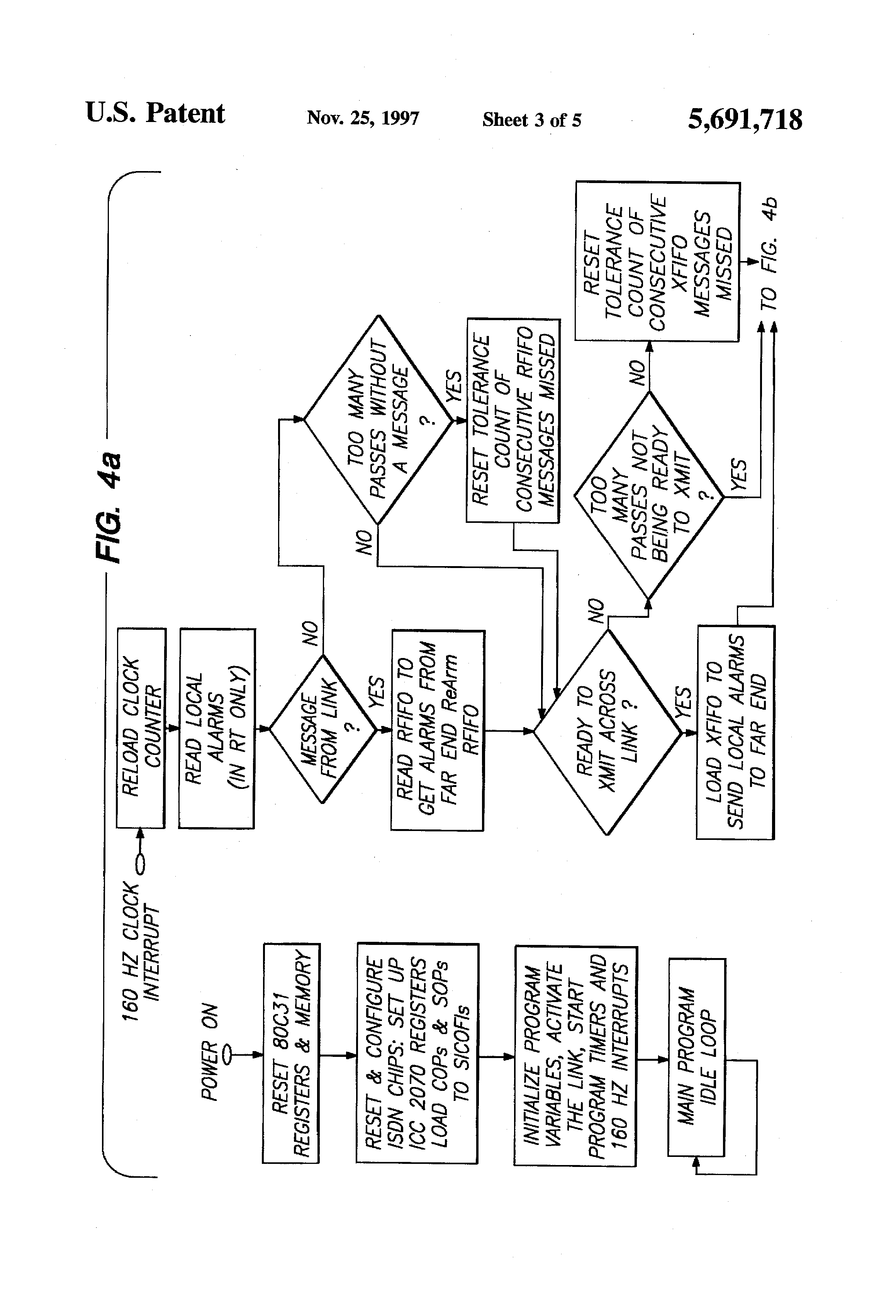 patent us5691718 - dual 4-wire analog data multiplexer