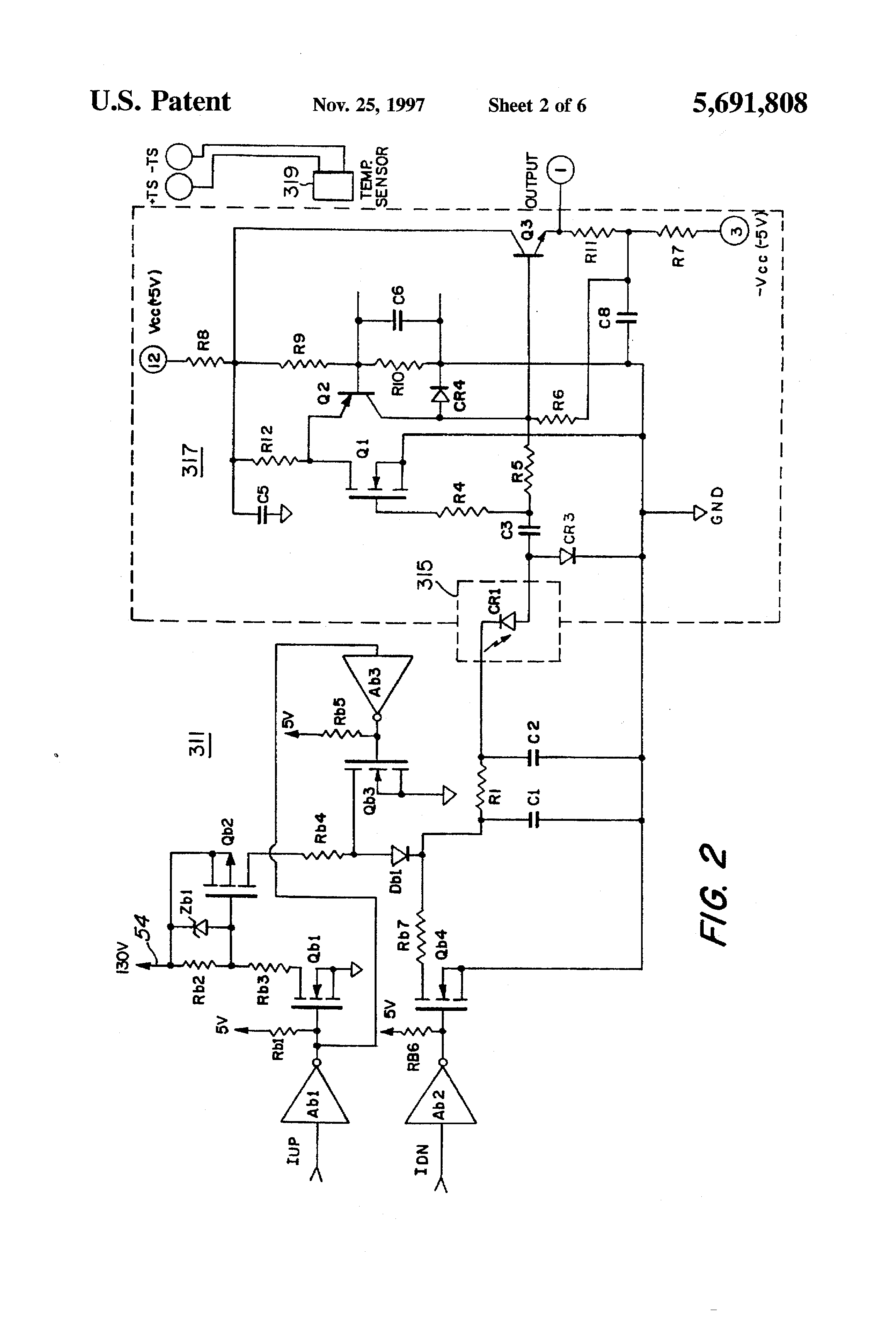 Patent Us5691808 Laser Range Finder Receiver Google Patents Programmable Transimpedance Amplifier Circuit Schematic Drawing