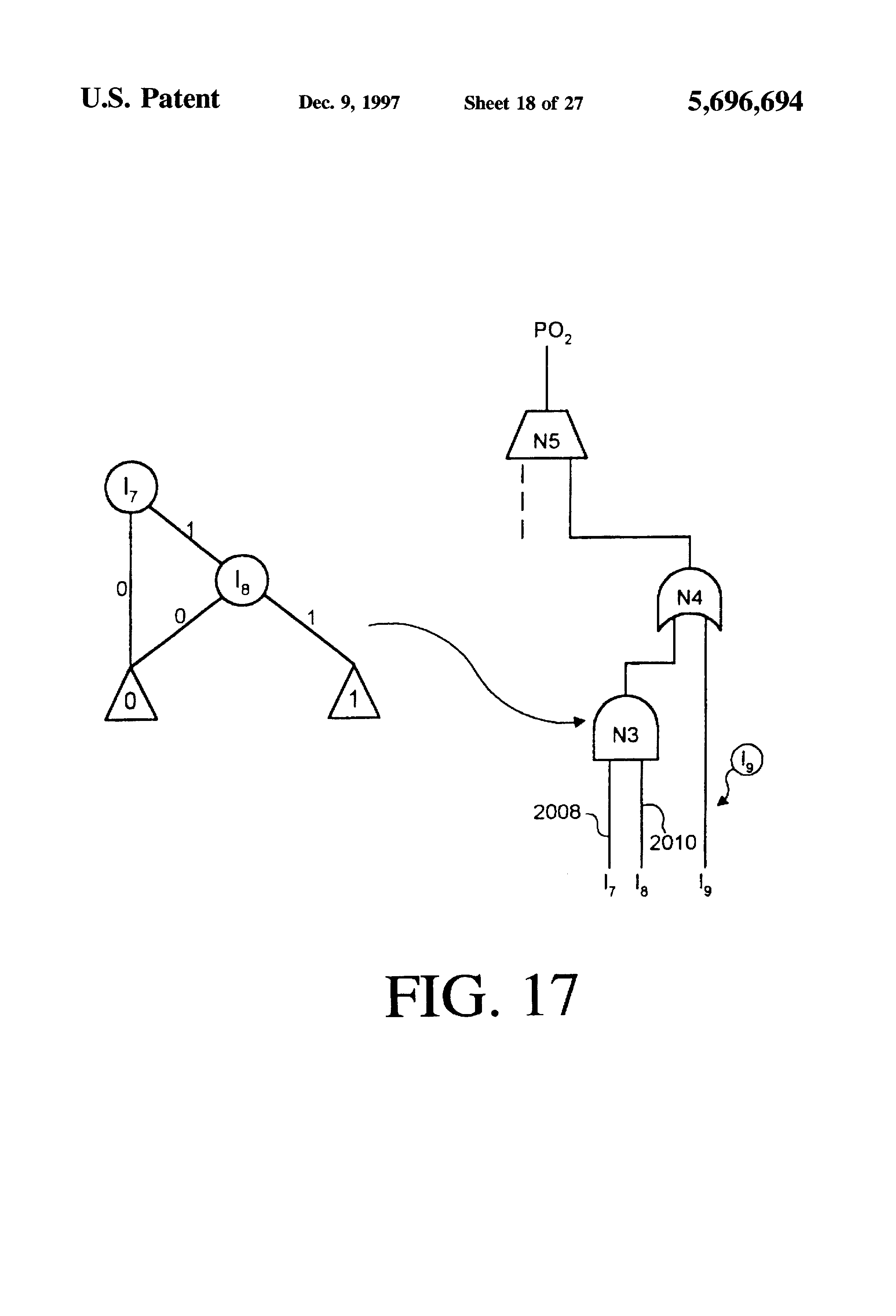Patent Us5696694 Method And Apparatus For Estimating Internal Types Of Flipflop Circuits Explained Rs Jk D T Drawing